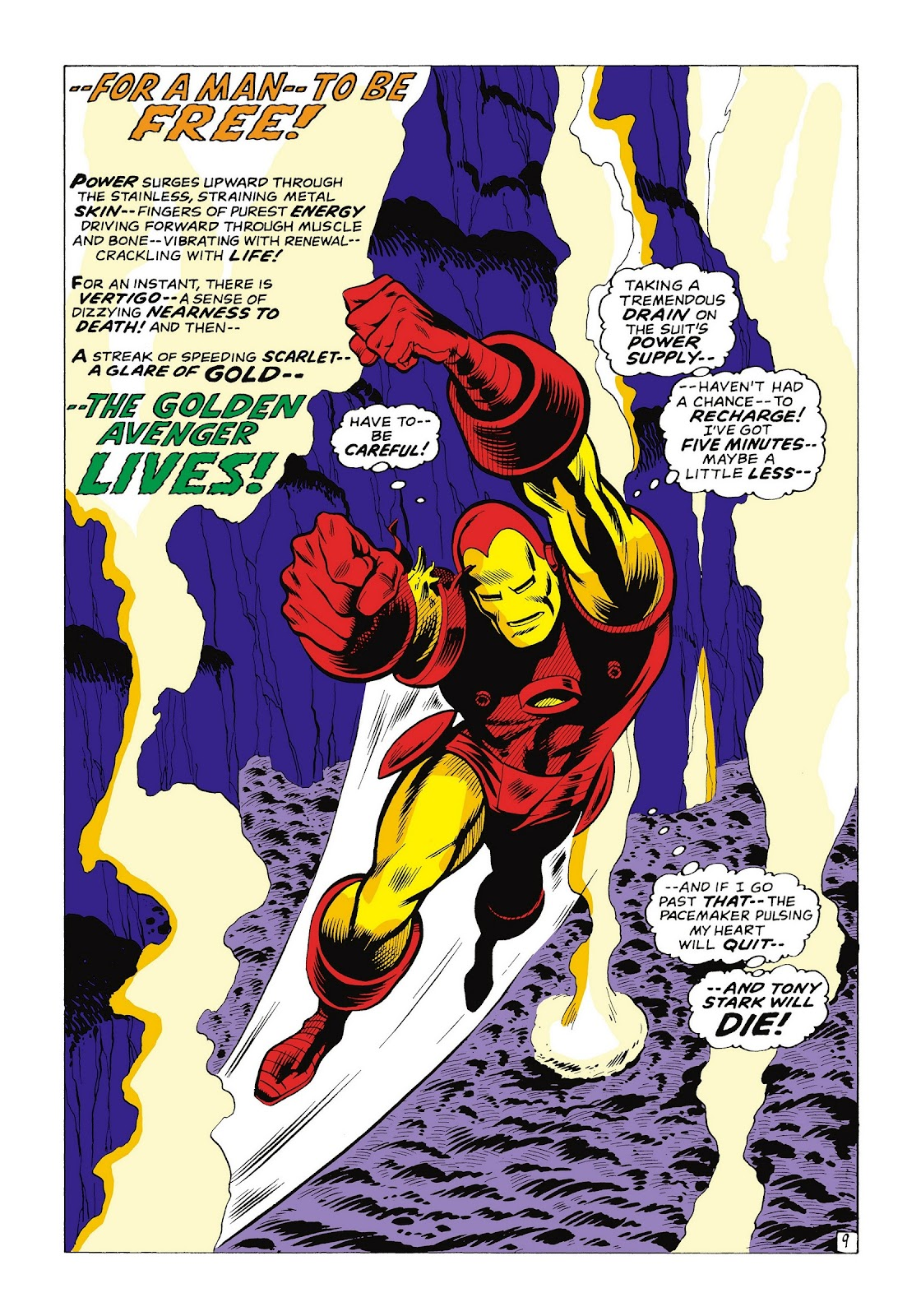 Read online Marvel Masterworks: The Invincible Iron Man comic -  Issue # TPB 8 (Part 1) - 96