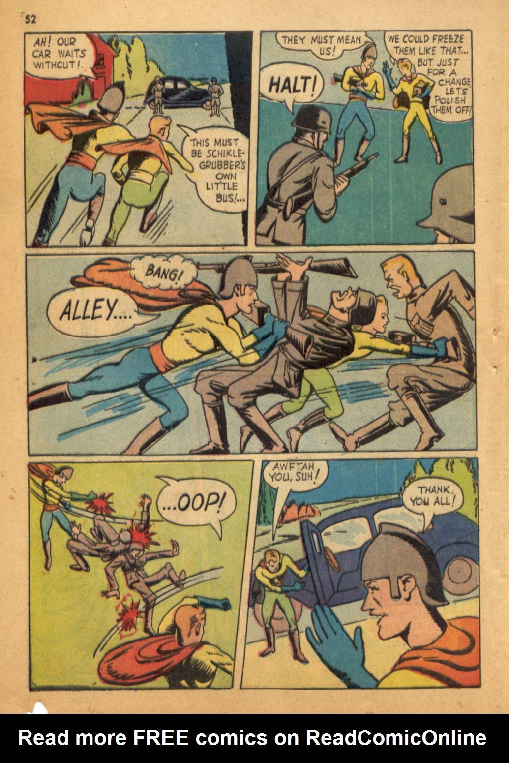 Read online Shadow Comics comic -  Issue #32 - 53