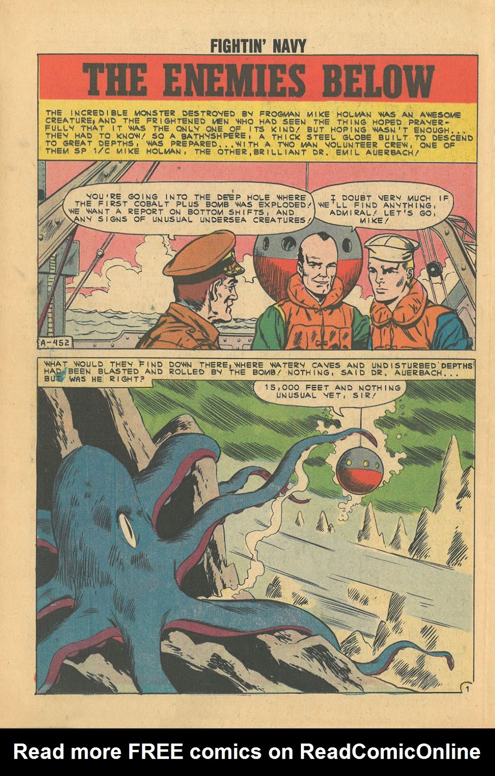Read online Fightin' Navy comic -  Issue #100 - 25