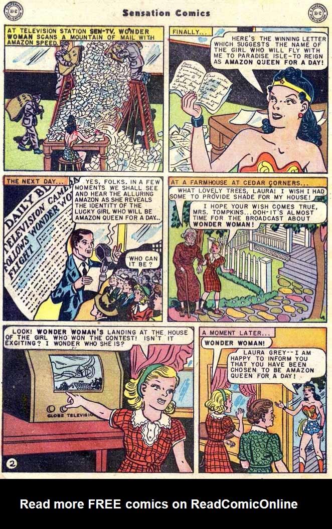 Read online Sensation (Mystery) Comics comic -  Issue #89 - 4