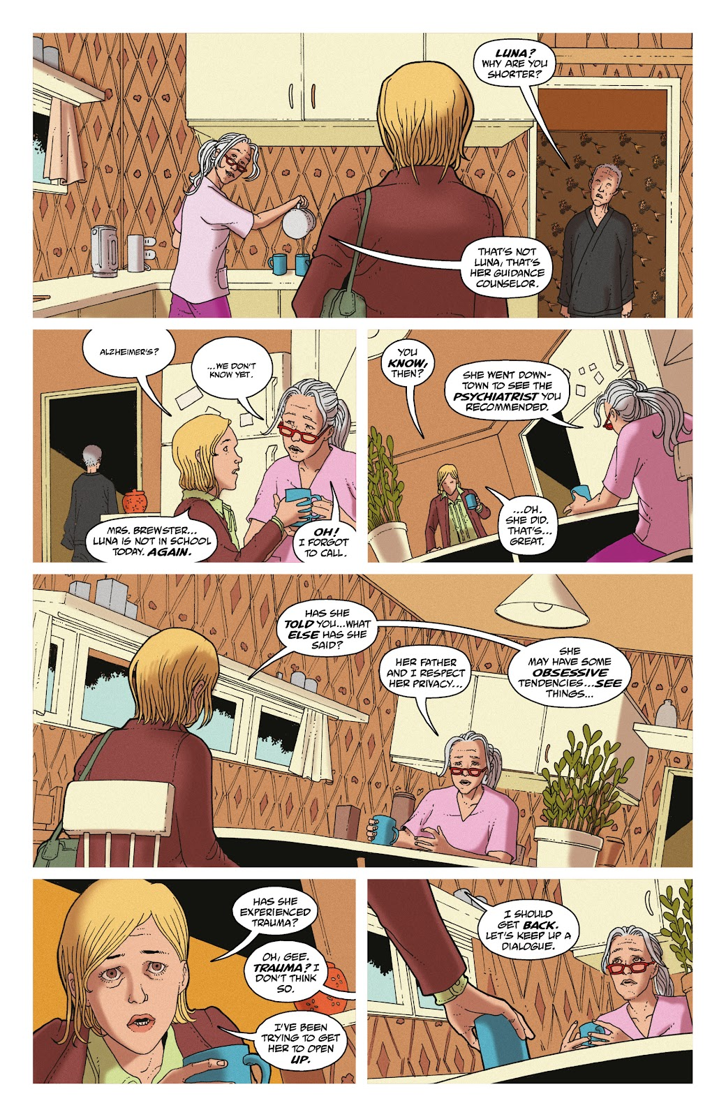 Read online She Could Fly comic -  Issue # _TPB - 86