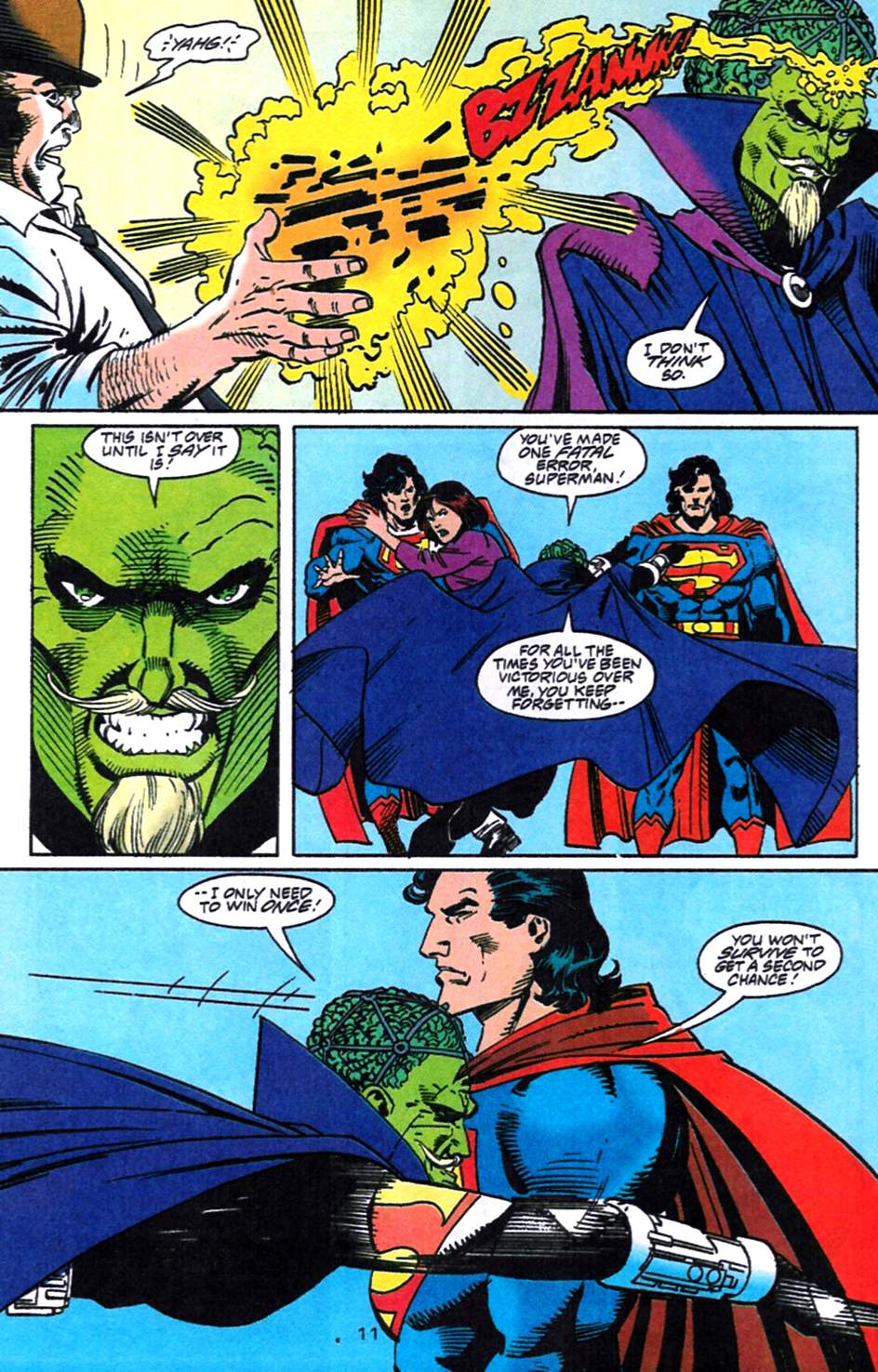 Read online Adventures of Superman (1987) comic -  Issue #519 - 12