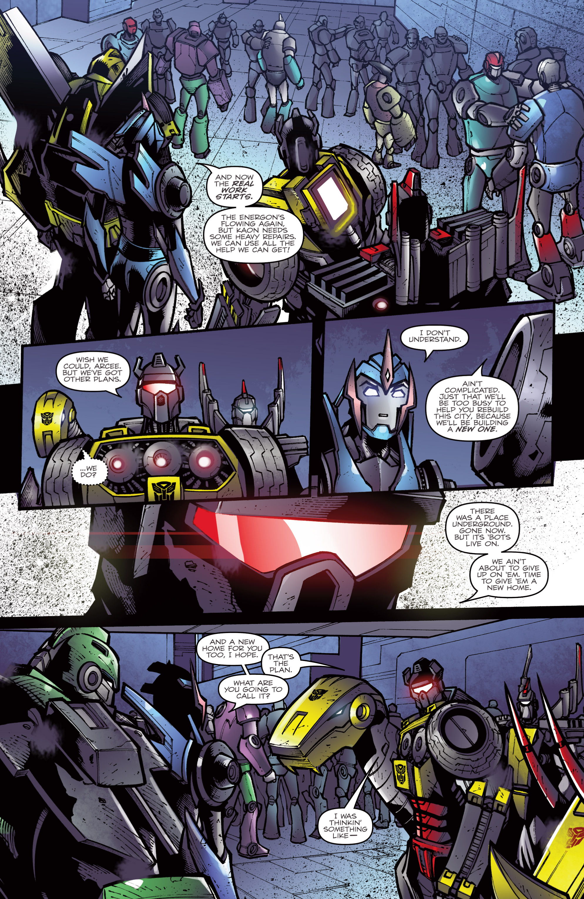 Read online Transformers Prime: Beast Hunters comic -  Issue #8 - 22