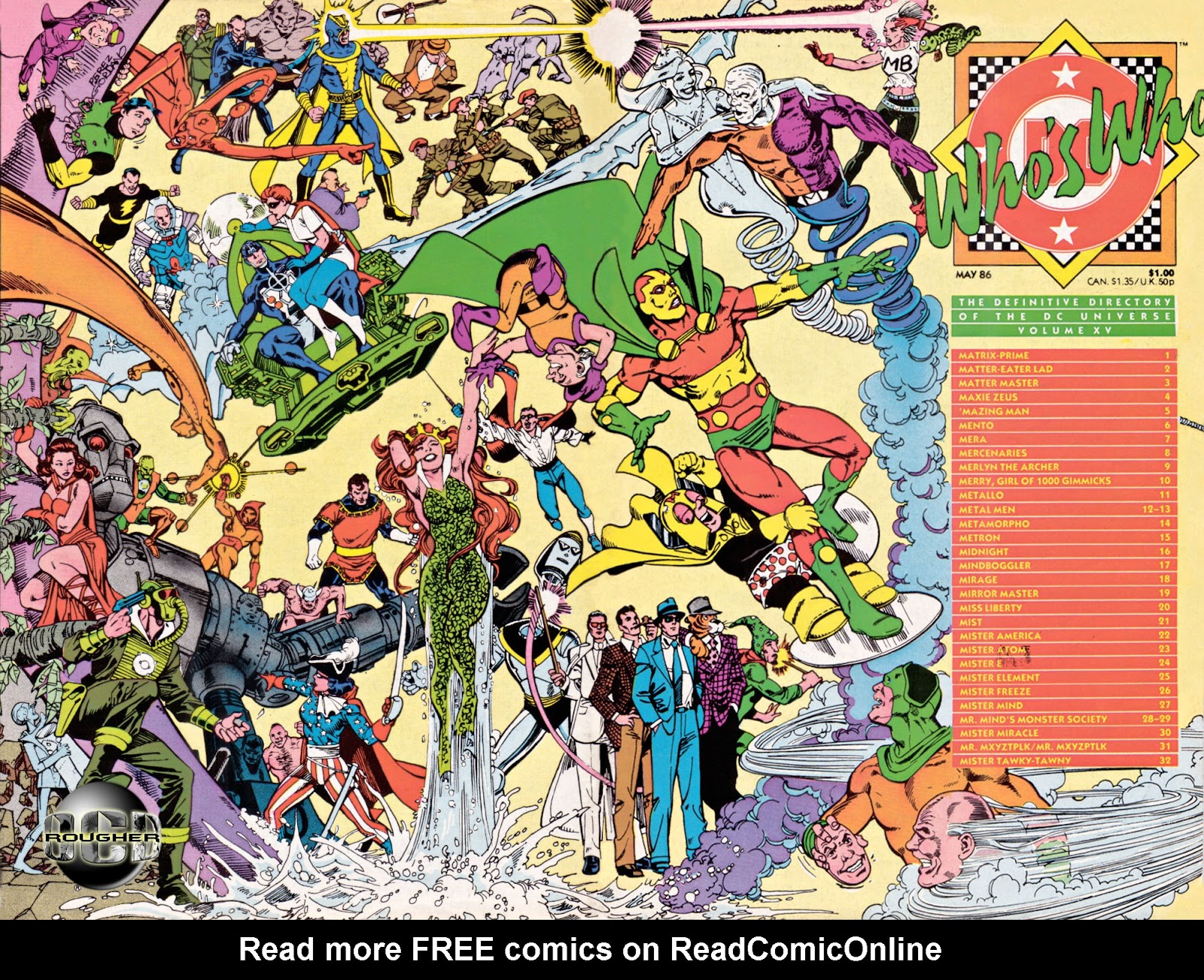 Whos Who: The Definitive Directory of the DC Universe 15 Page 1