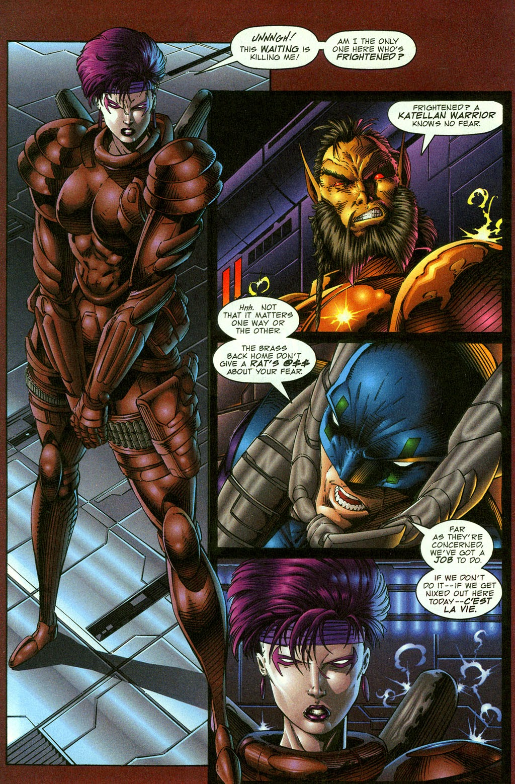 Read online Youngblood GT Interactive Ultra Game Players Special Edition comic -  Issue # Full - 4