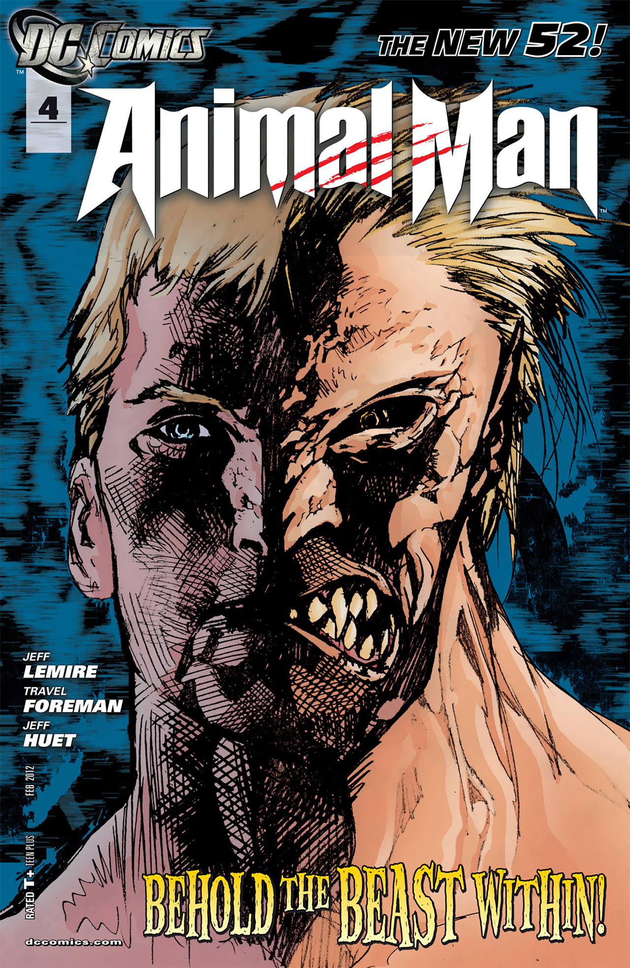 Read online Animal Man (2011) comic -  Issue #4 - 1