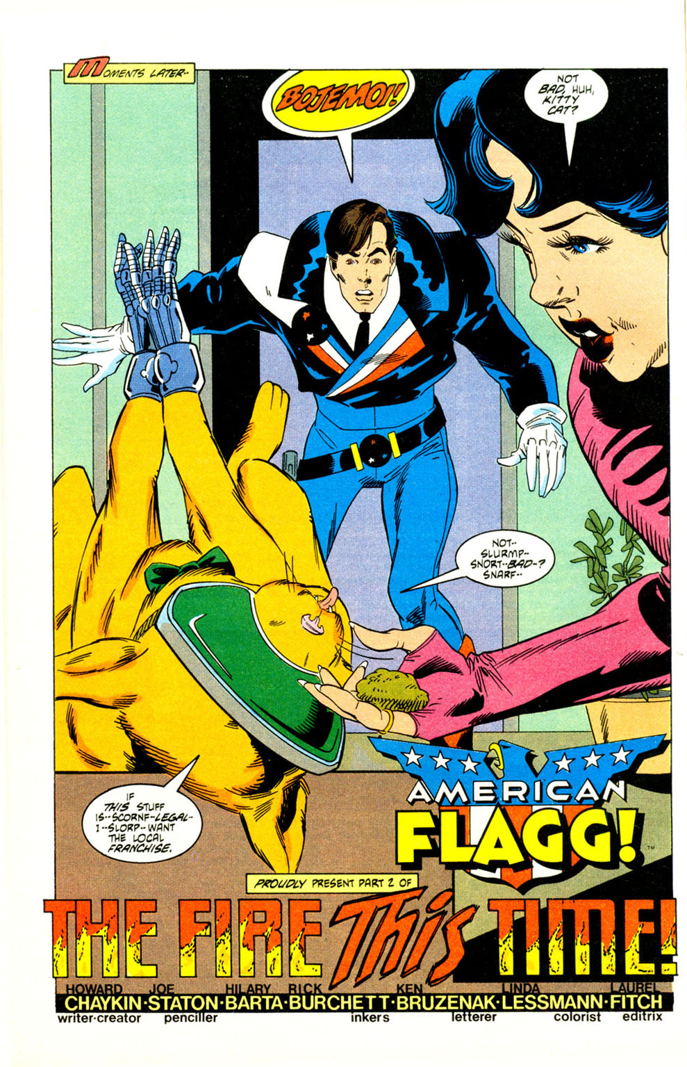 Read online American Flagg! comic -  Issue #29 - 10