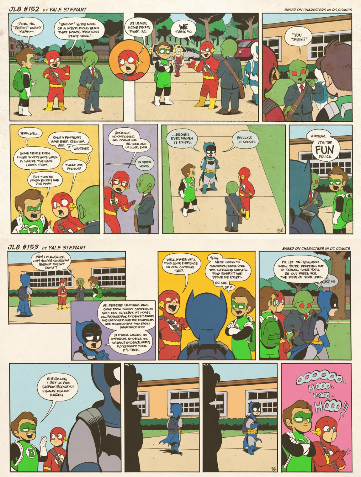 Read online JL8 – The Complete Collection comic -  Issue # TPB (Part 1) - 81