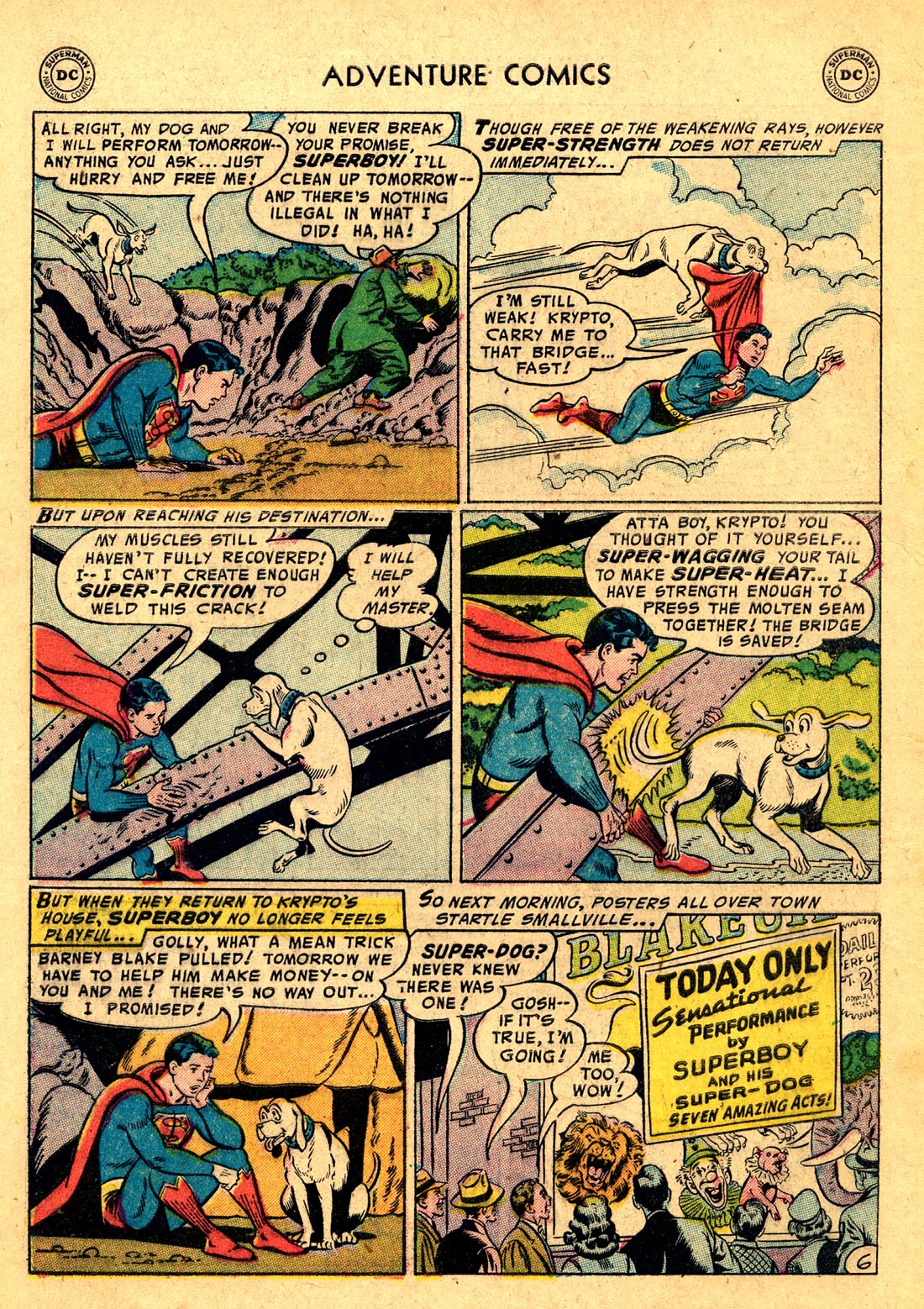 Read online Adventure Comics (1938) comic -  Issue #220 - 8