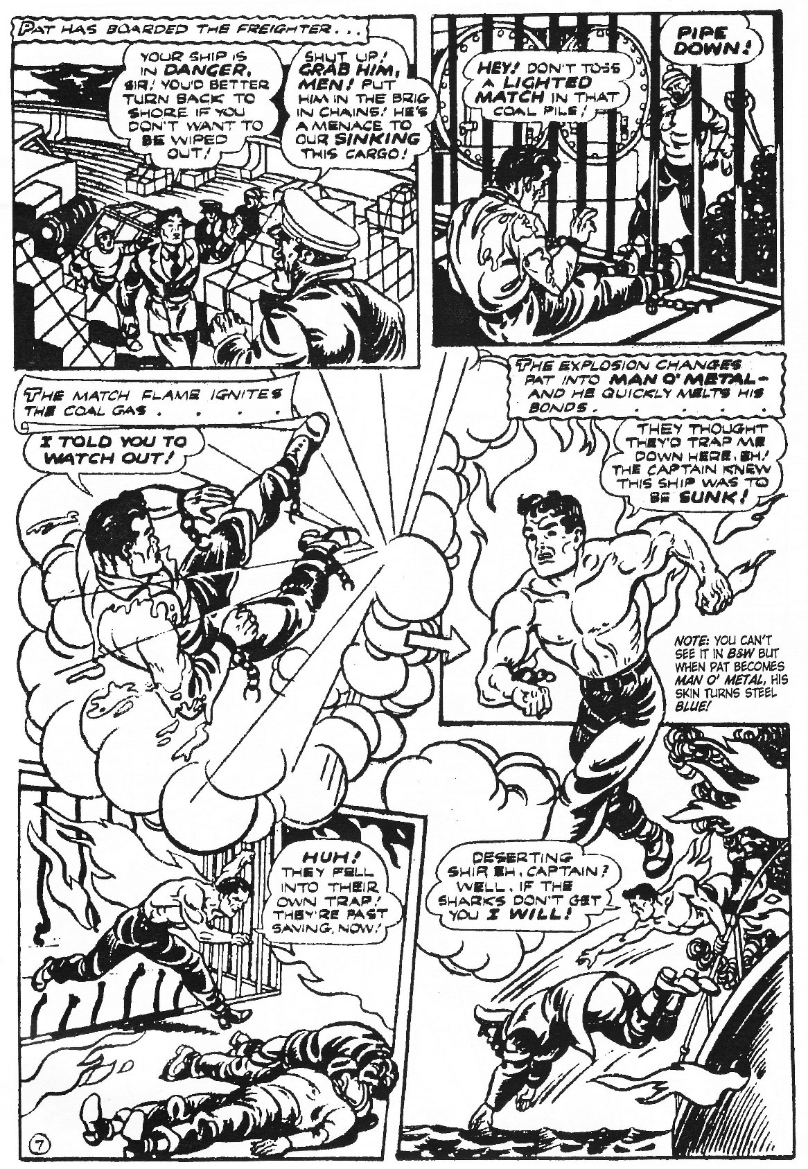 Read online Men of Mystery Comics comic -  Issue #77 - 47