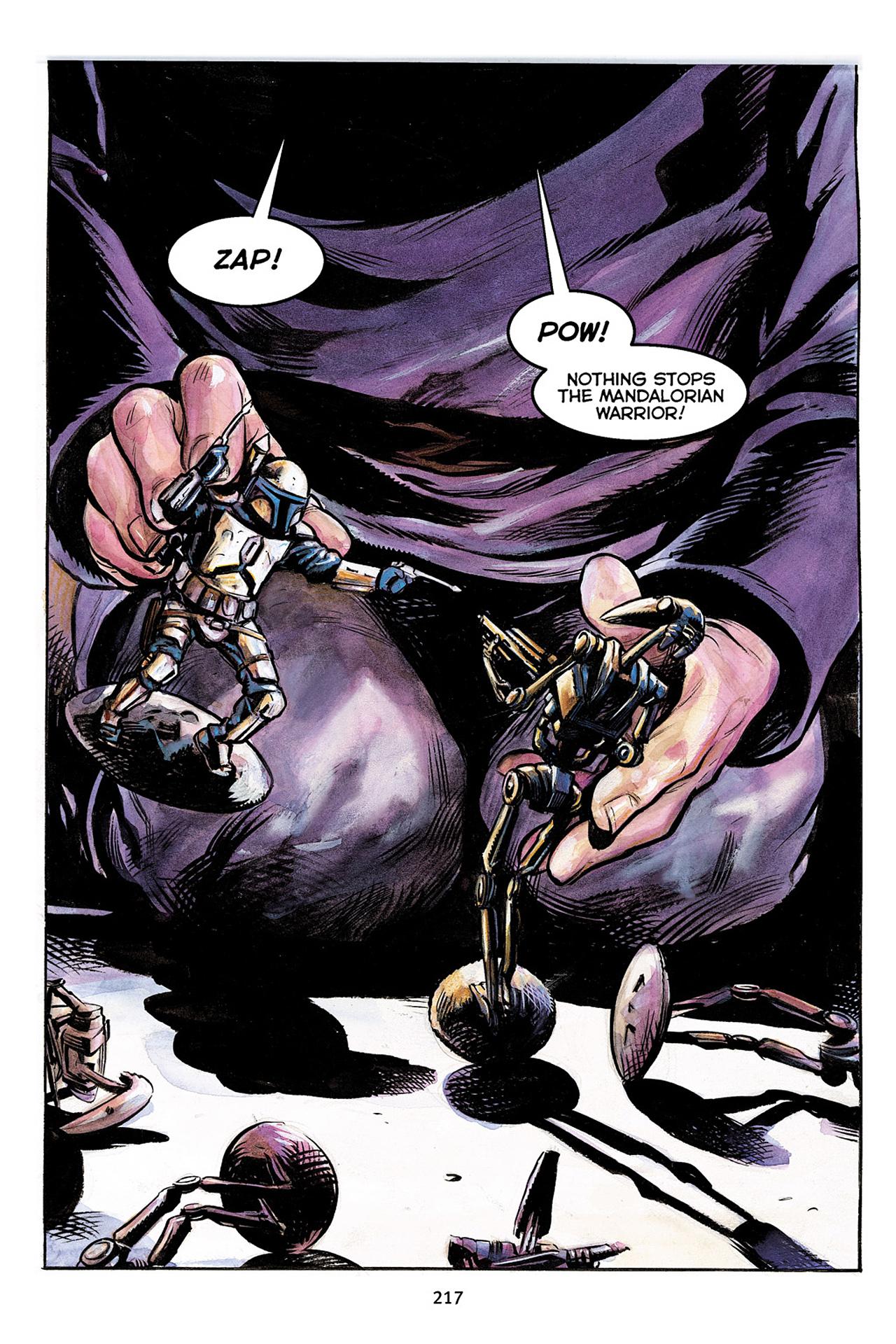Read online Star Wars Omnibus comic -  Issue # Vol. 10 - 216