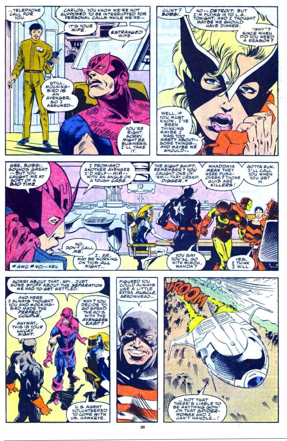 Avengers West Coast (1989) issue 76 - Page 16