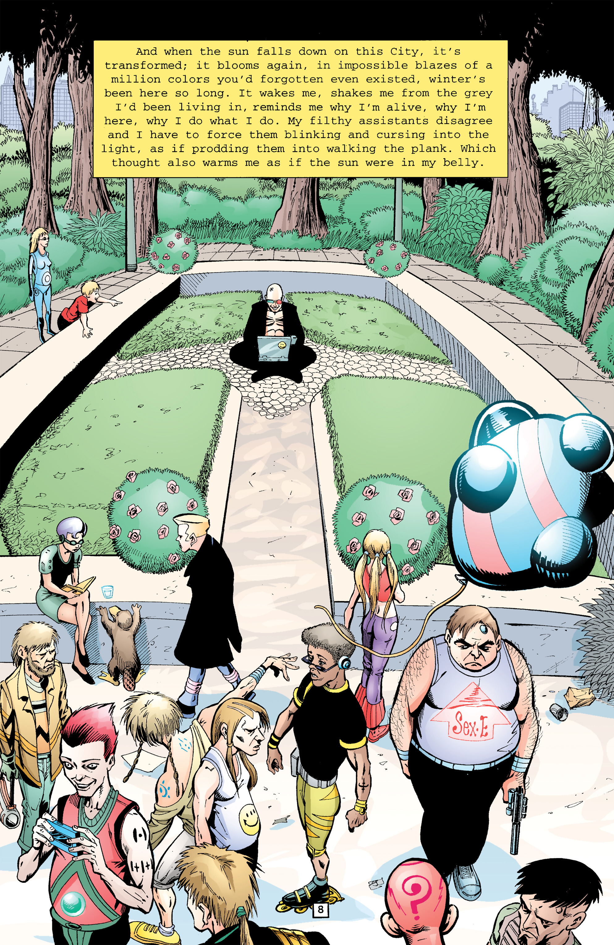 Read online Transmetropolitan comic -  Issue #26 - 9