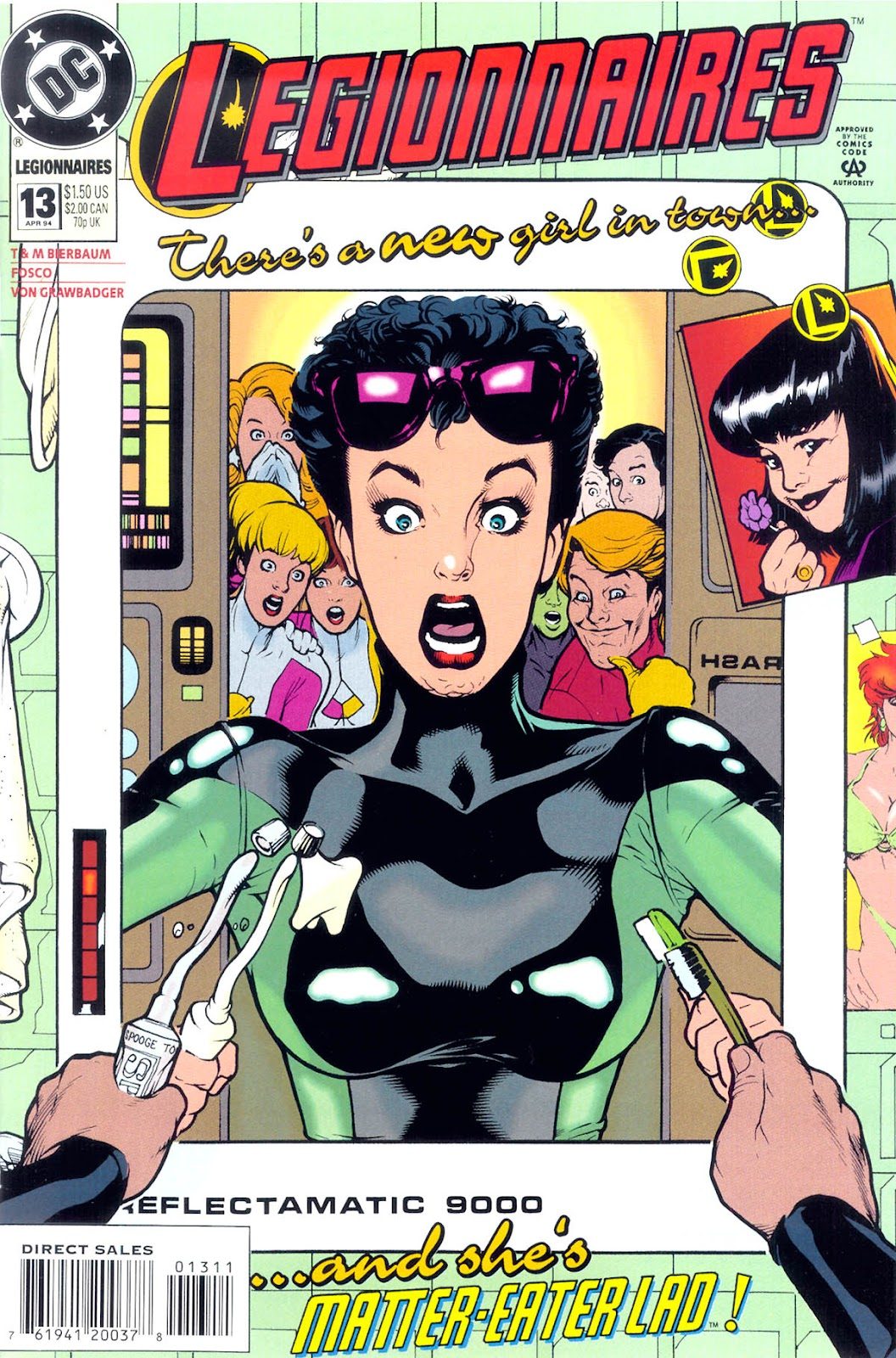 Legionnaires issue 13 - Page 1