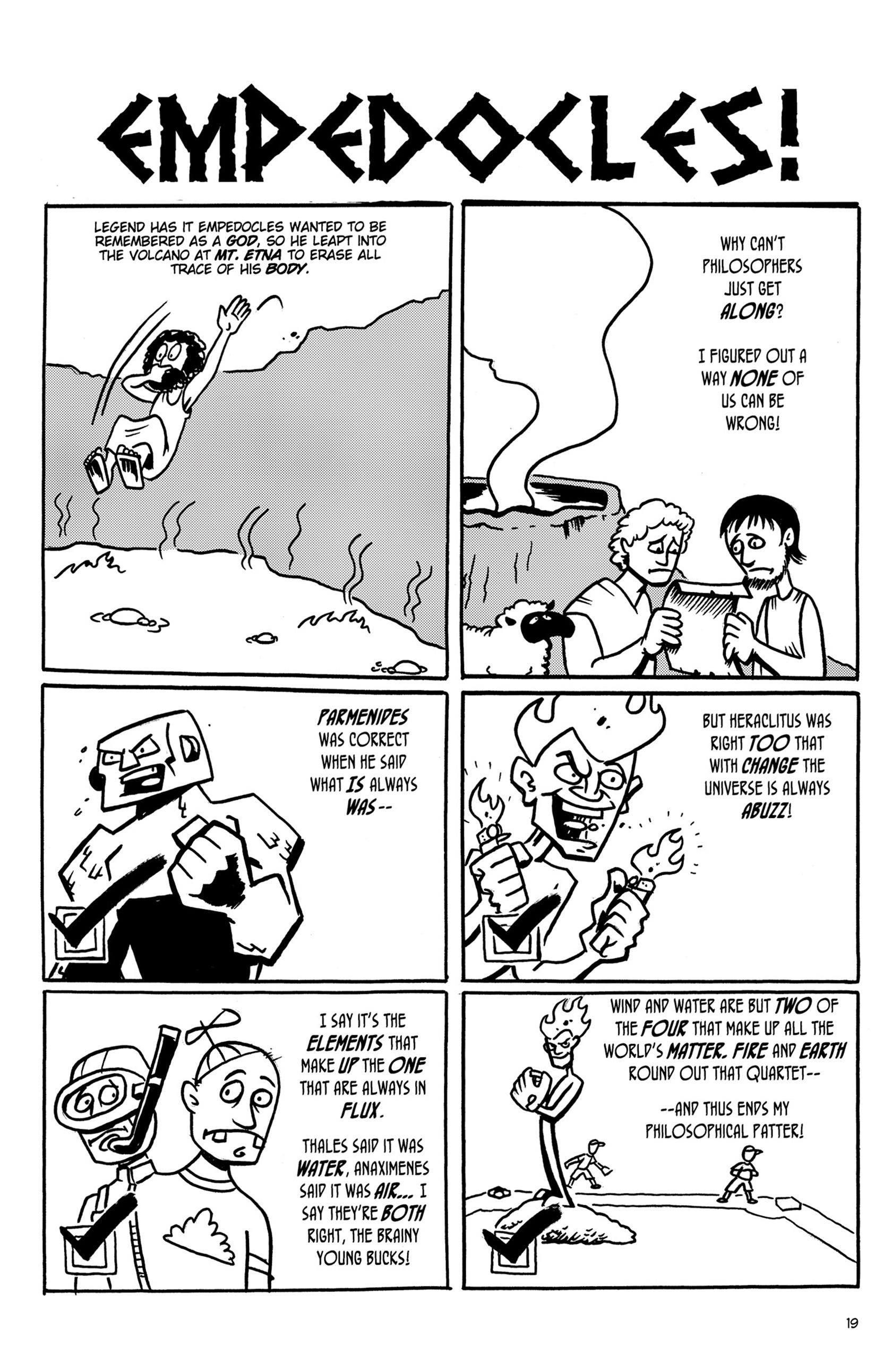 Read online Action Philosophers! comic -  Issue #Action Philosophers! TPB (Part 1) - 19