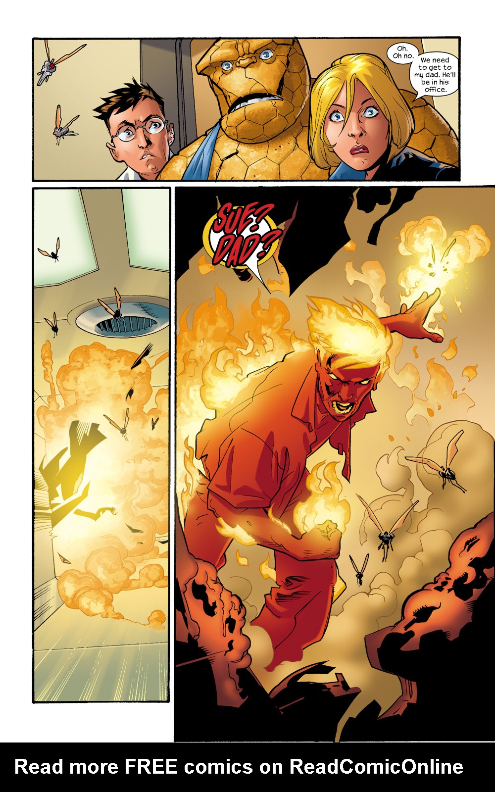 Read online Ultimate Fantastic Four (2004) comic -  Issue #9 - 5