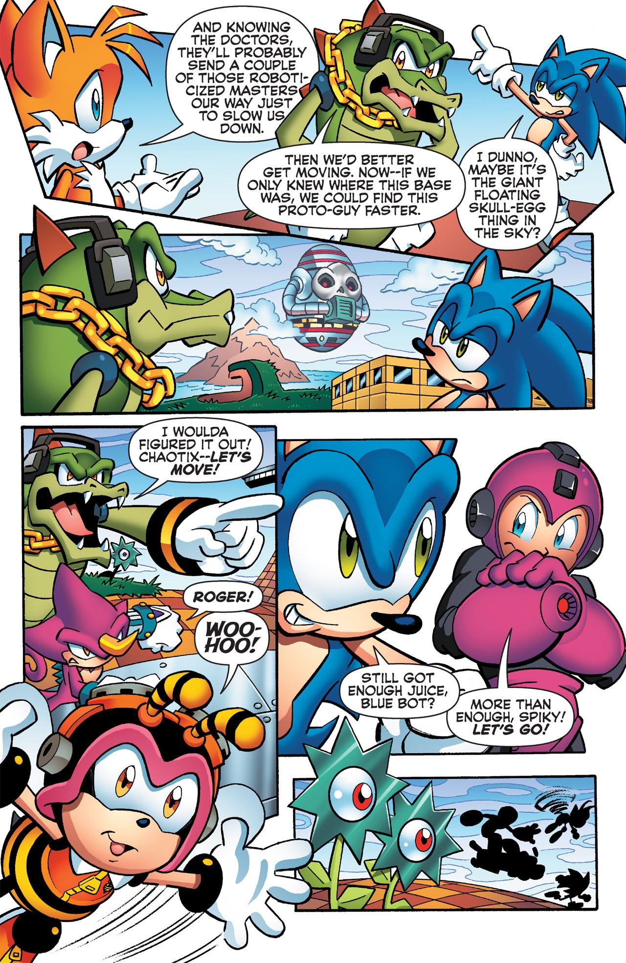 Read online Sonic Mega Man Worlds Collide comic -  Issue # Vol 2 - 51