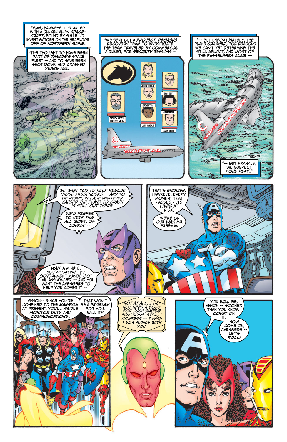 Read online Avengers (1998) comic -  Issue #5 - 8