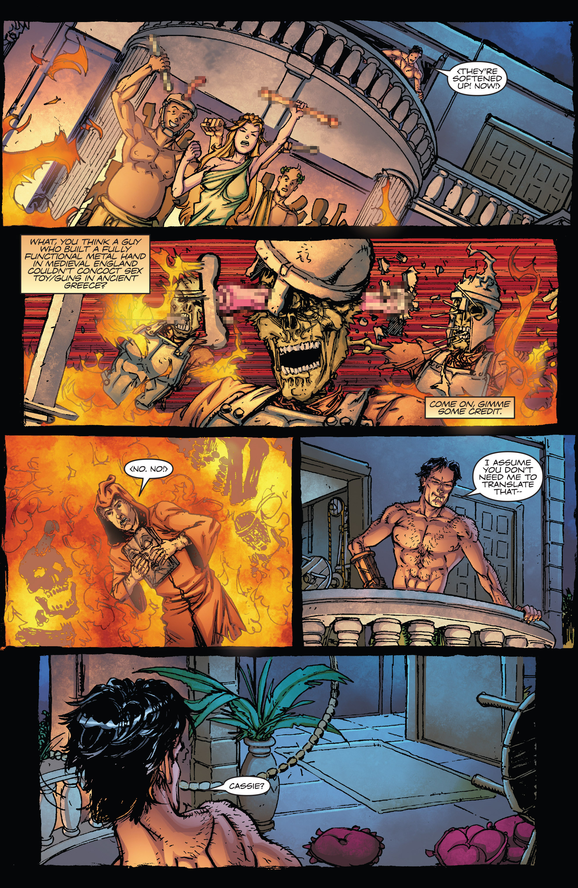 Read online Army of Darkness vs. Hack/Slash comic -  Issue #5 - 20
