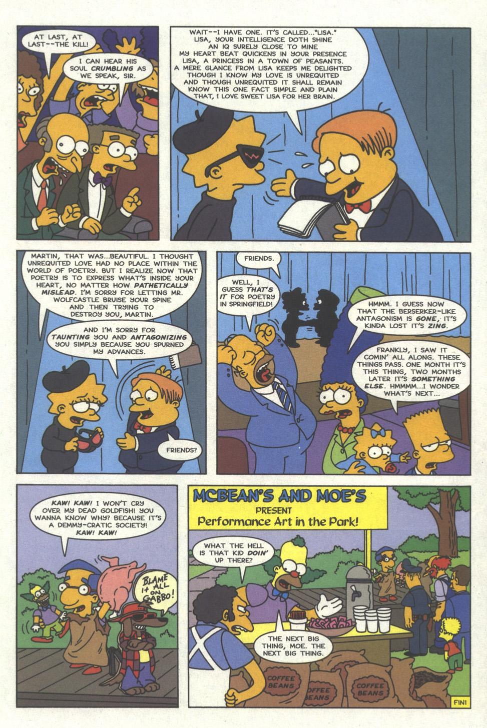 Read online Simpsons Comics comic -  Issue #32 - 22