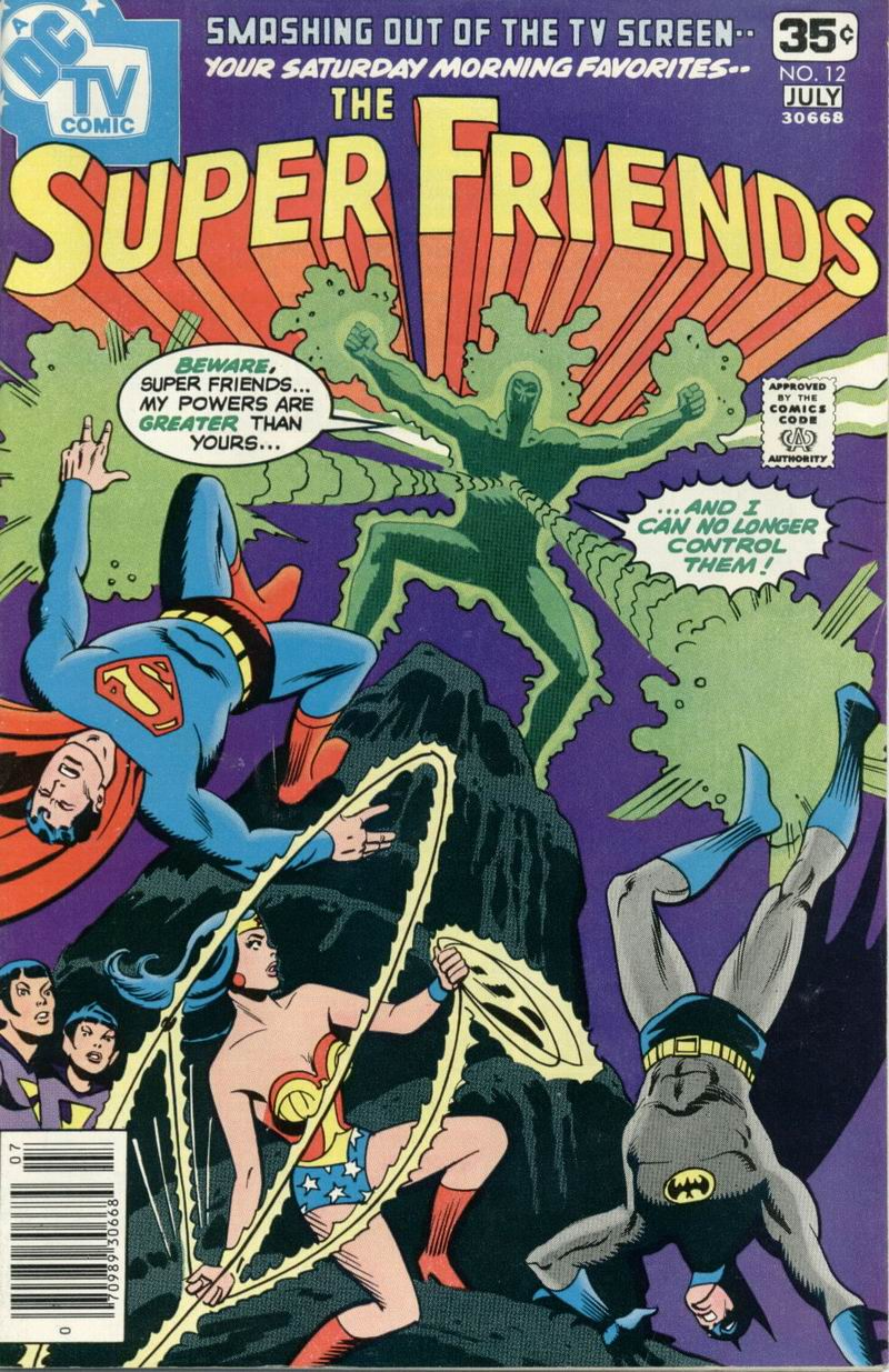 The Super Friends issue 12 - Page 1