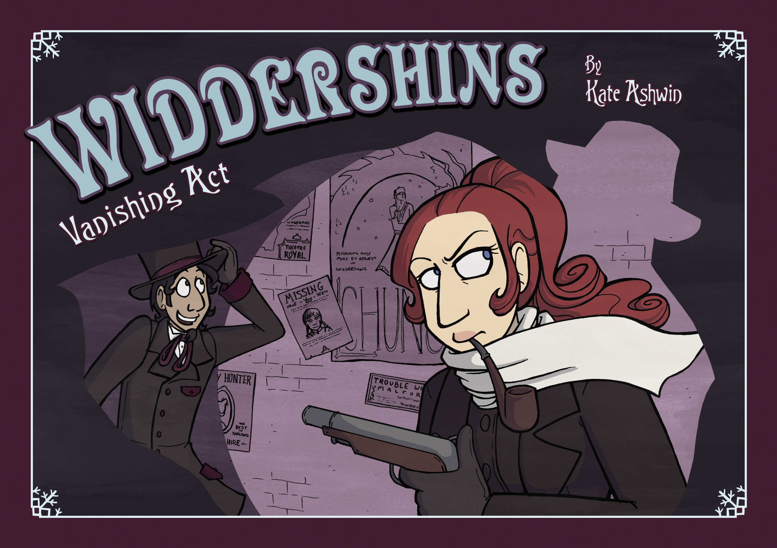 Widdershins issue 3 - Page 1