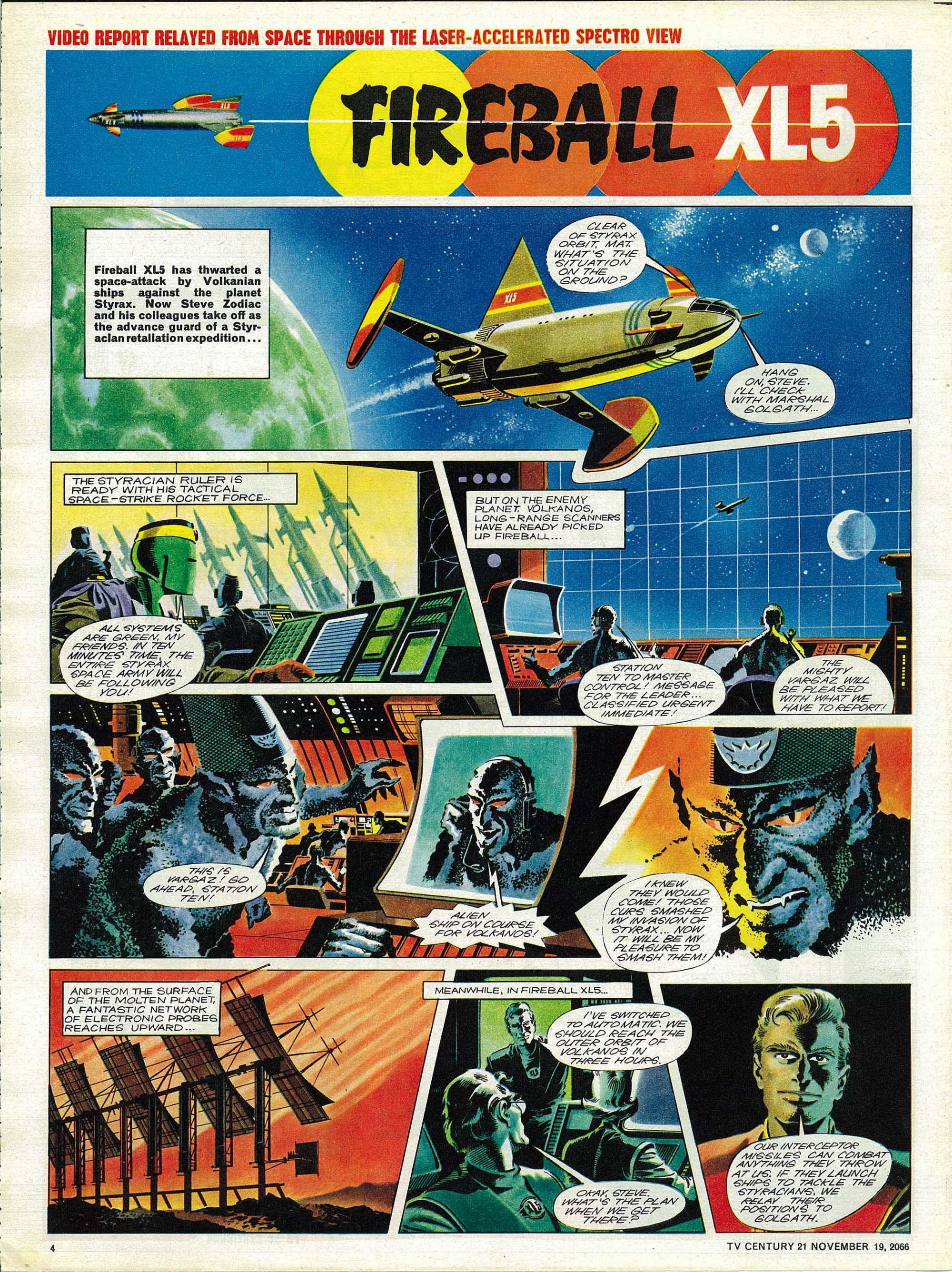 Read online TV Century 21 (TV 21) comic -  Issue #96 - 4
