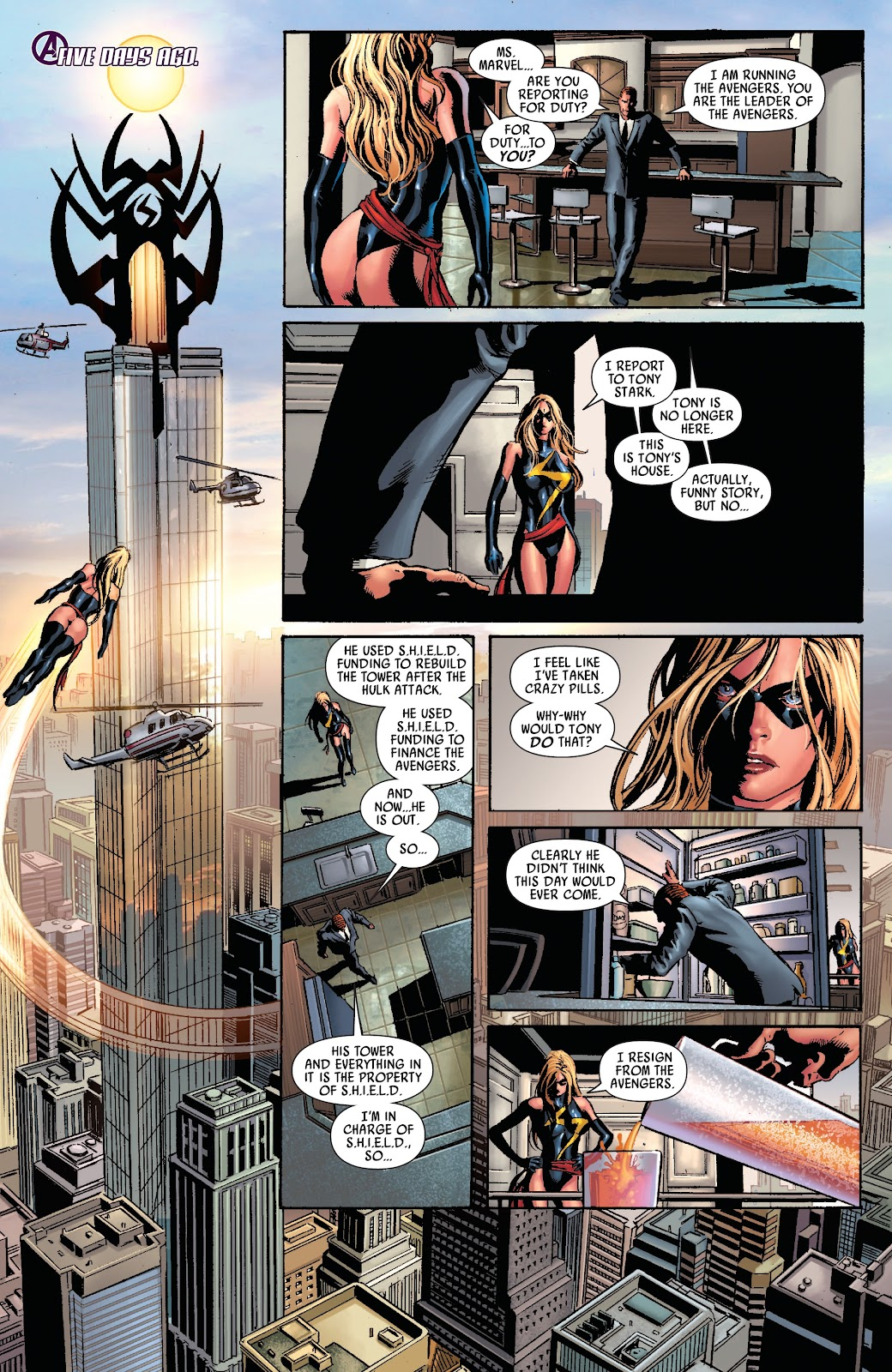 Read online Siege Prelude comic -  Issue # TPB (Part 1) - 11