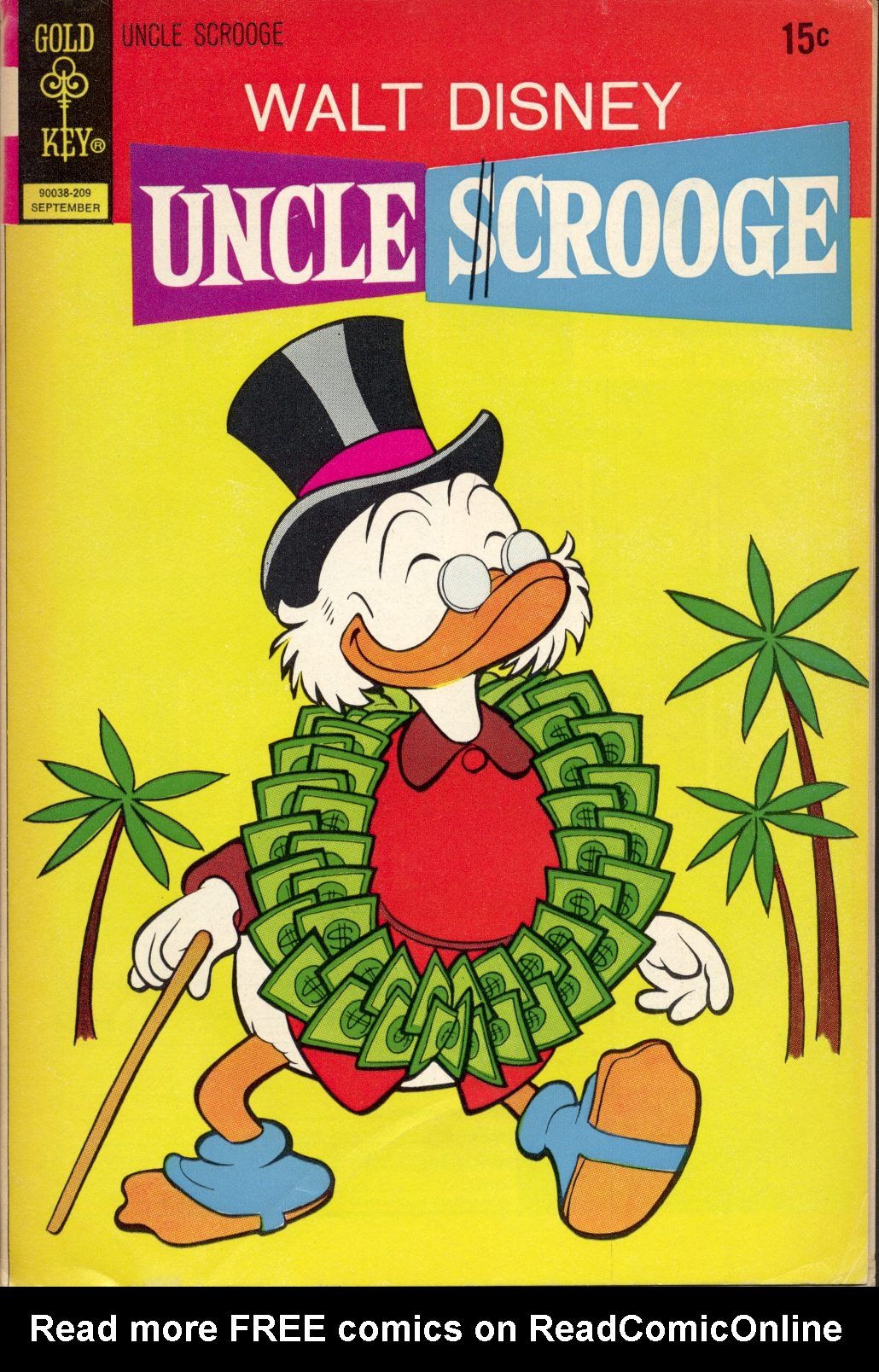 Read online Uncle Scrooge (1953) comic -  Issue #101 - 1