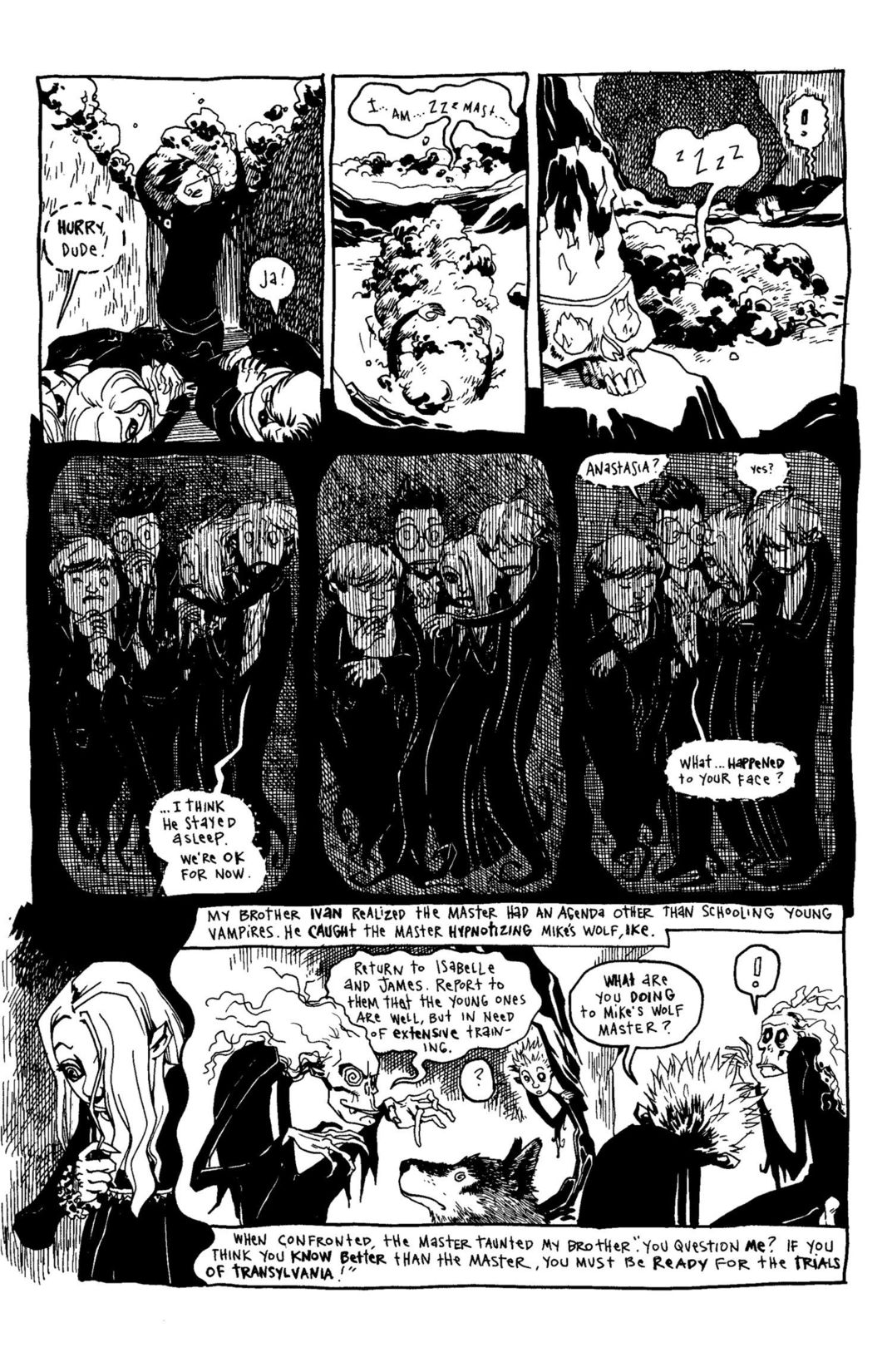 Read online Scary Godmother Comic Book Stories comic -  Issue # TPB - 193