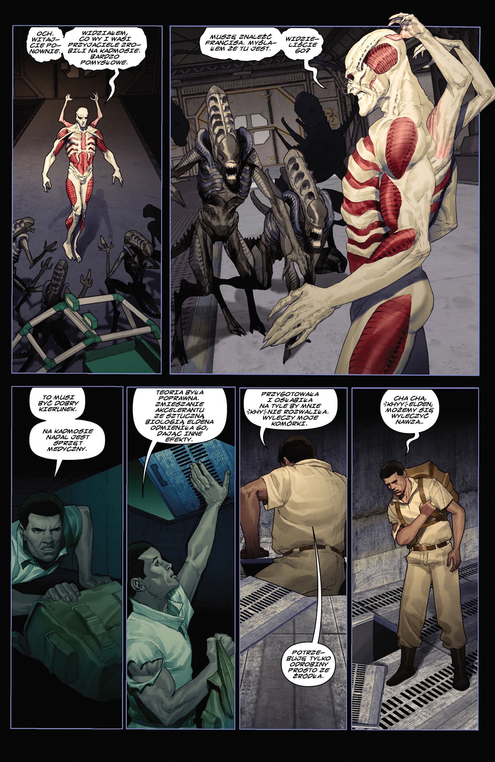 Read online Alien vs. Predator: Fire and Stone comic -  Issue #2 - 23