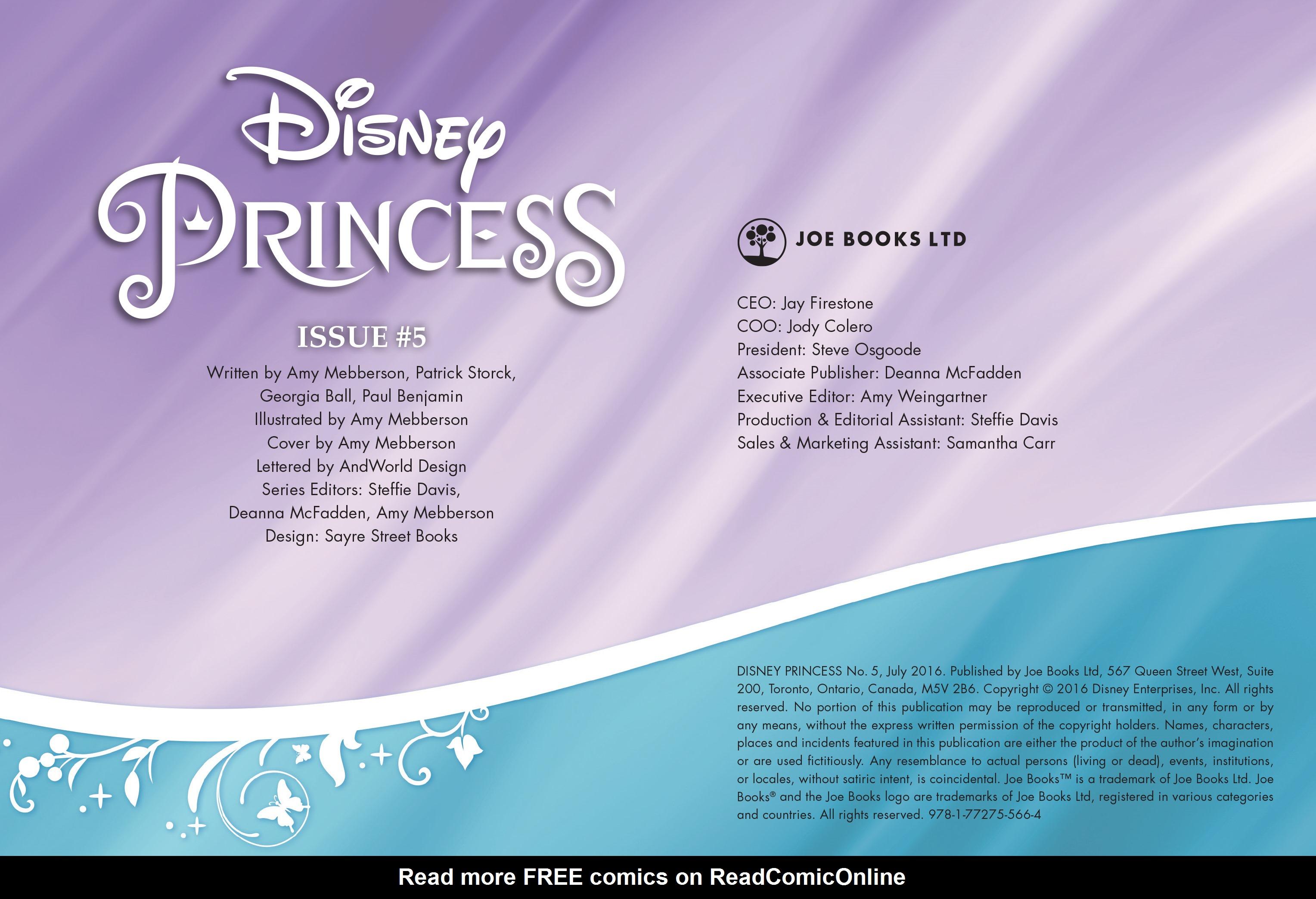 Read online Disney Princess comic -  Issue #5 - 2
