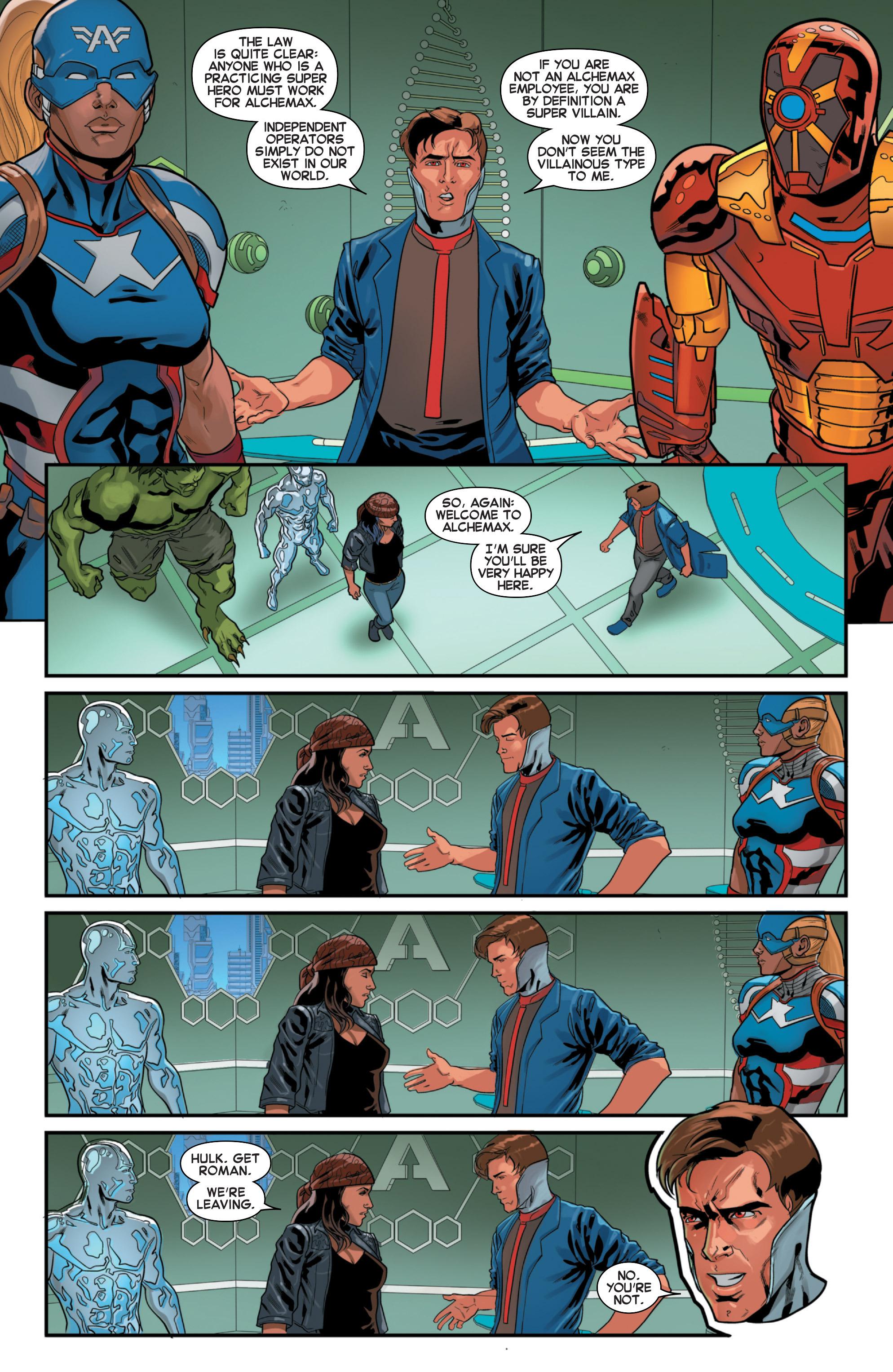 Read online Secret Wars 2099 comic -  Issue #3 - 19