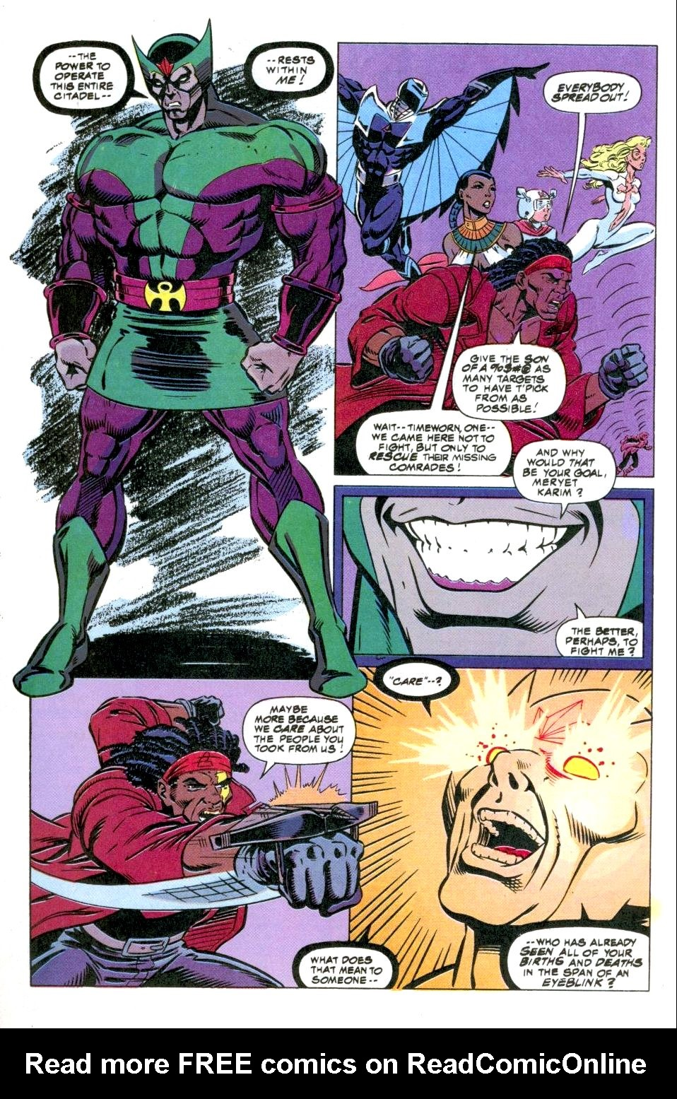 The New Warriors Issue #49 #53 - English 18