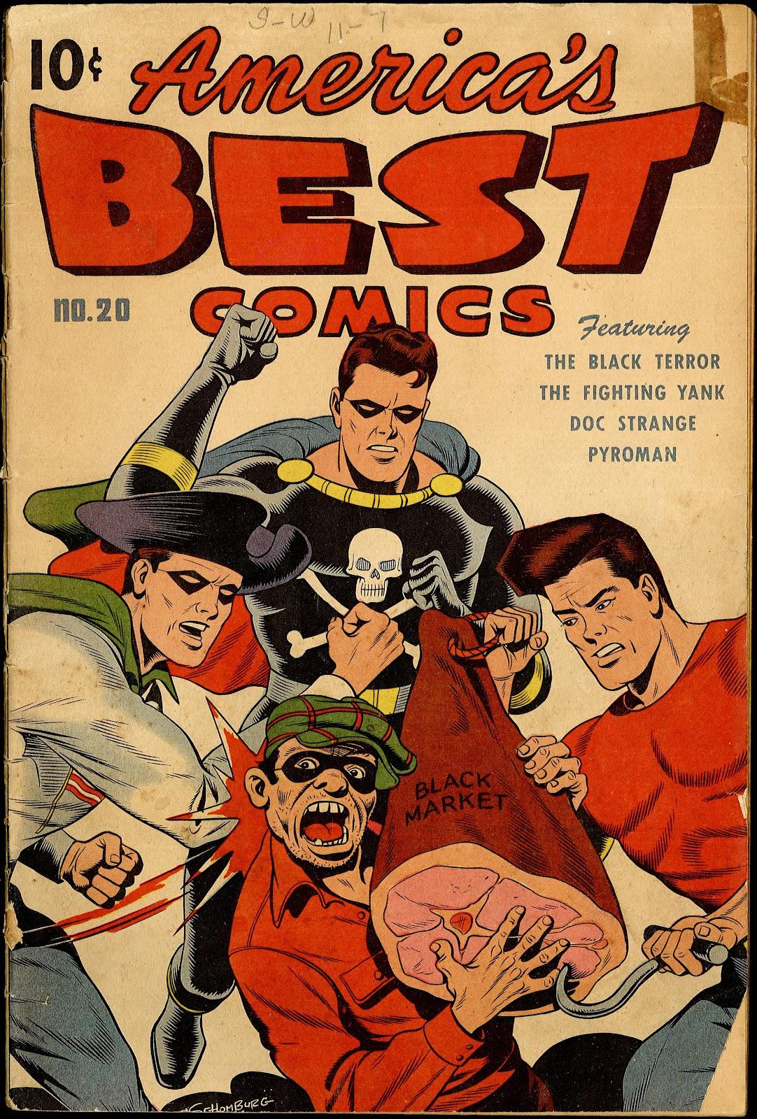Americas Best Comics 20 Page 1