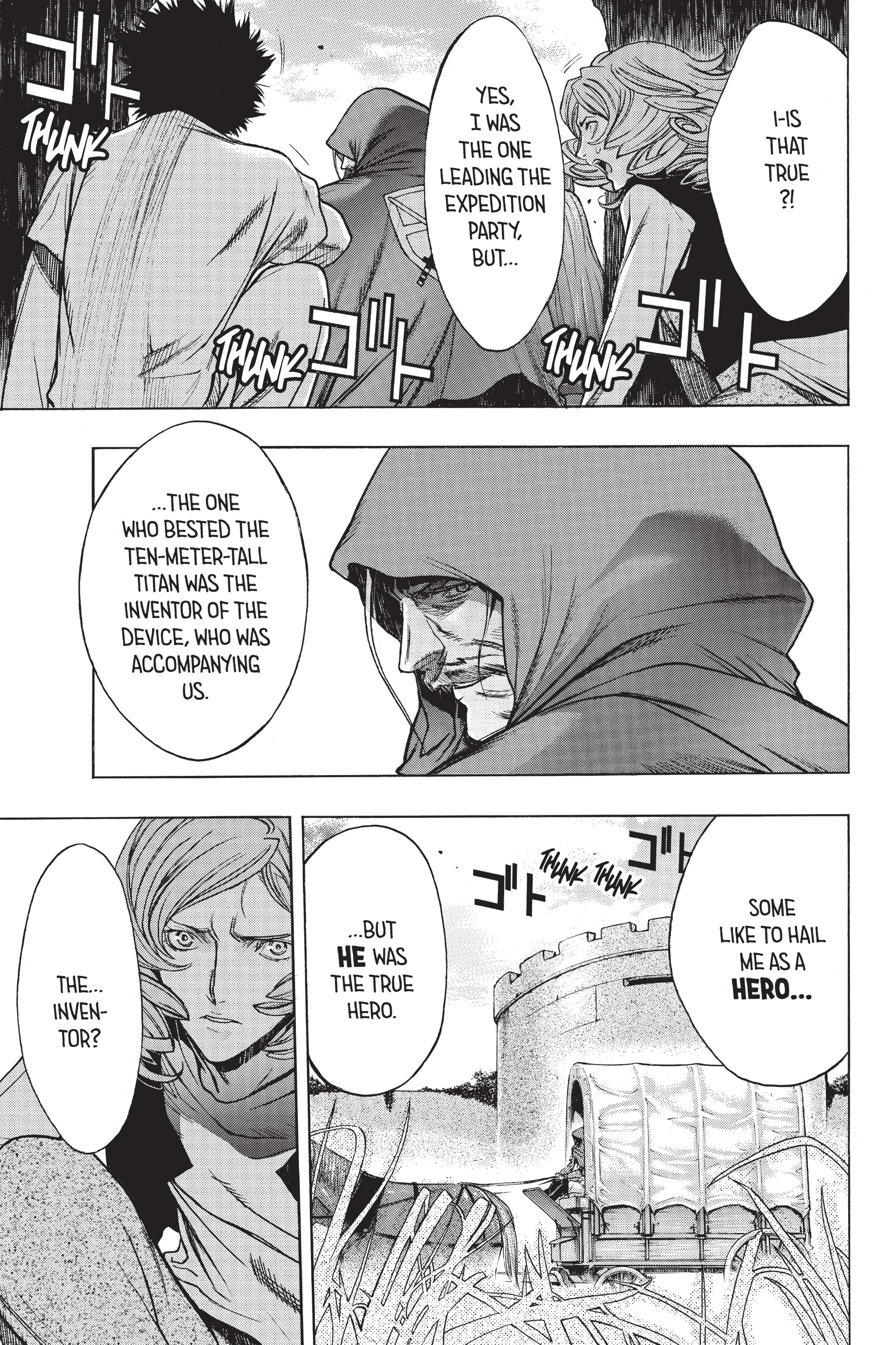 Read online Attack on Titan: Before the Fall comic -  Issue #5 - 12