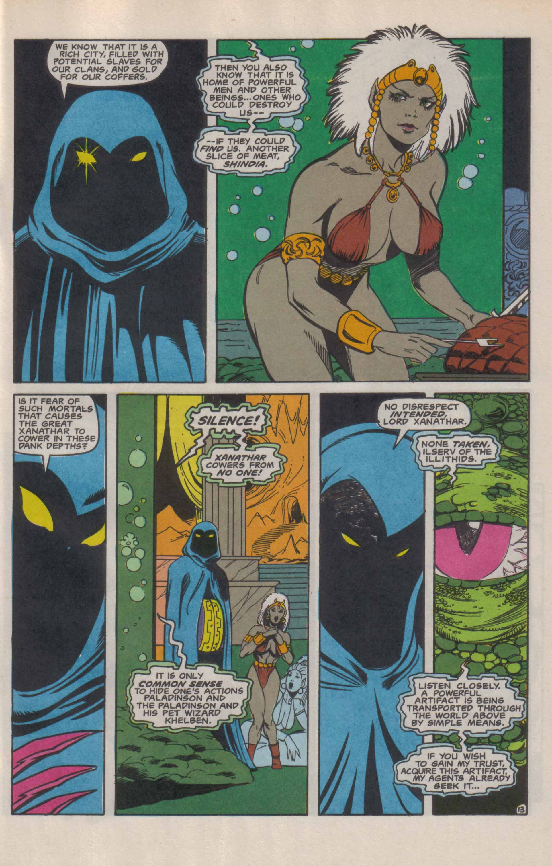 Read online Advanced Dungeons & Dragons comic -  Issue #9 - 14