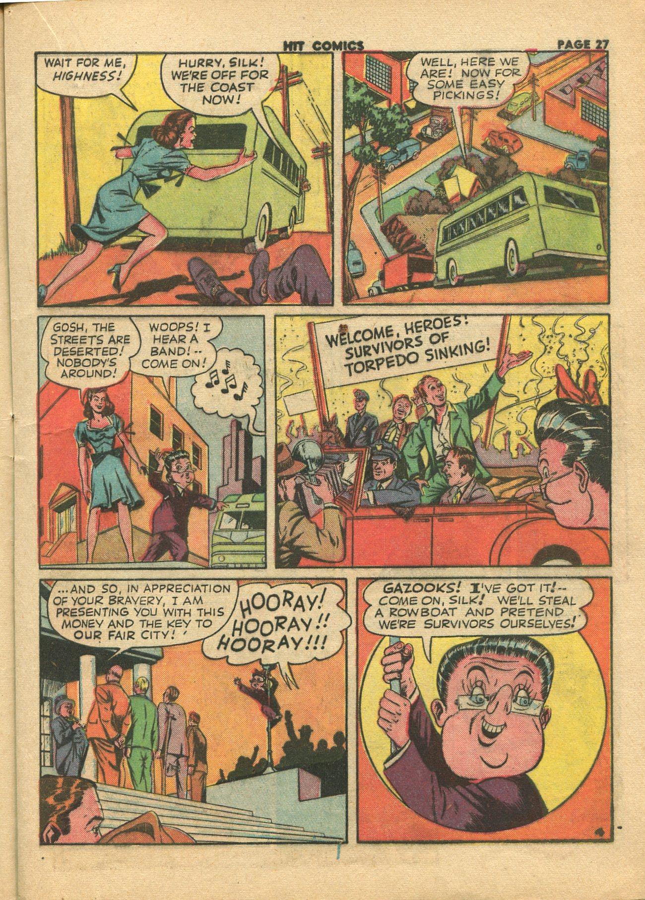 Read online Hit Comics comic -  Issue #28 - 30