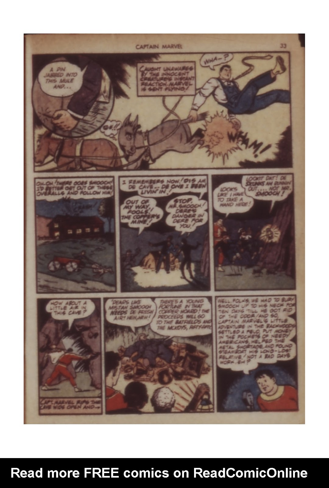 Captain Marvel Adventures issue 11 - Page 33