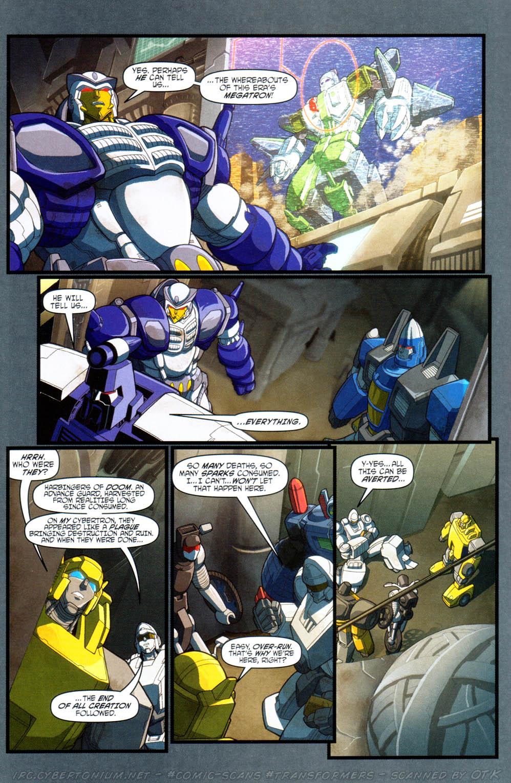 Read online Transformers Armada comic -  Issue #16 - 12
