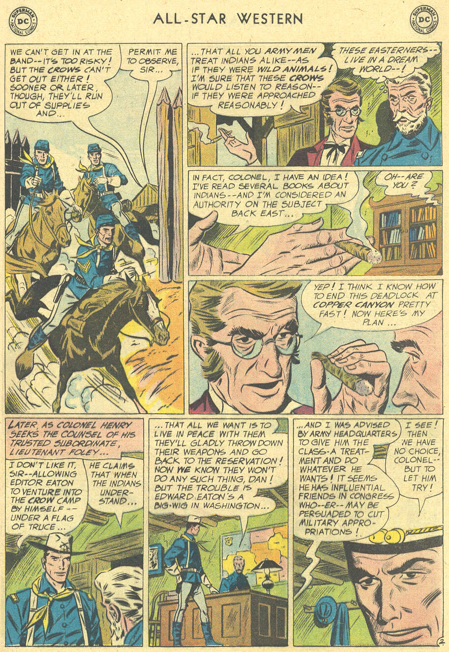 Read online All-Star Western (1951) comic -  Issue #113 - 17