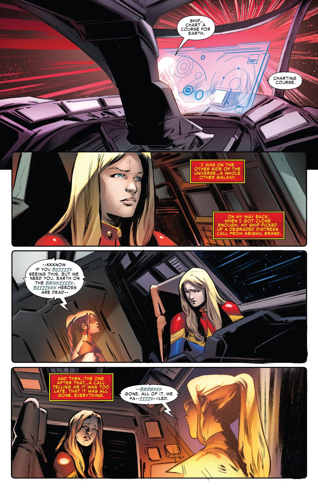 Read online Captain Marvel: The End comic -  Issue # Full - 7