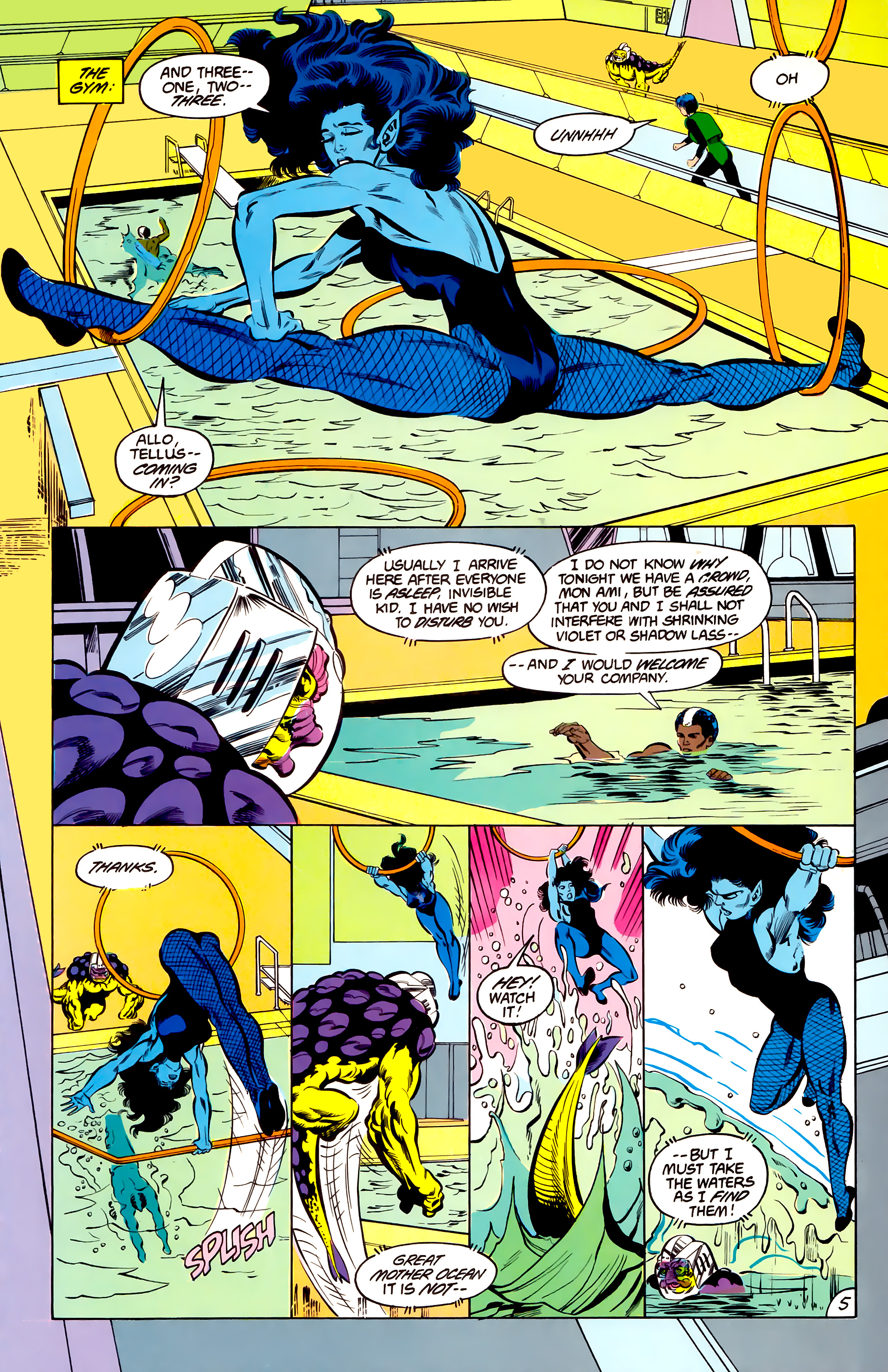 Legion of Super-Heroes (1984) 42 Page 5