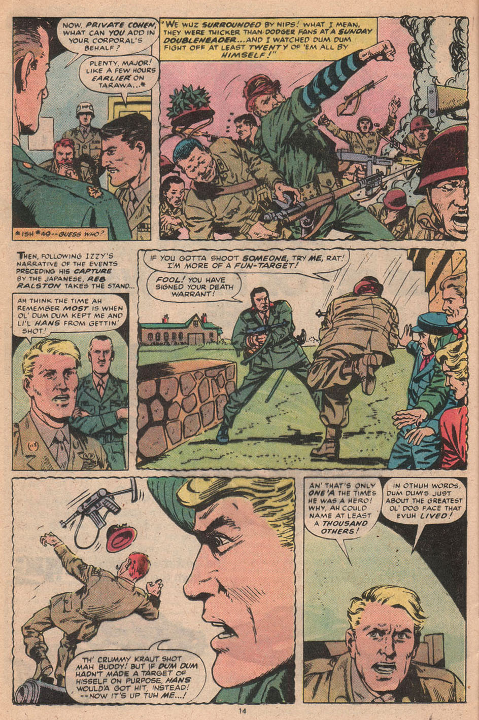 Read online Sgt. Fury comic -  Issue #156 - 16