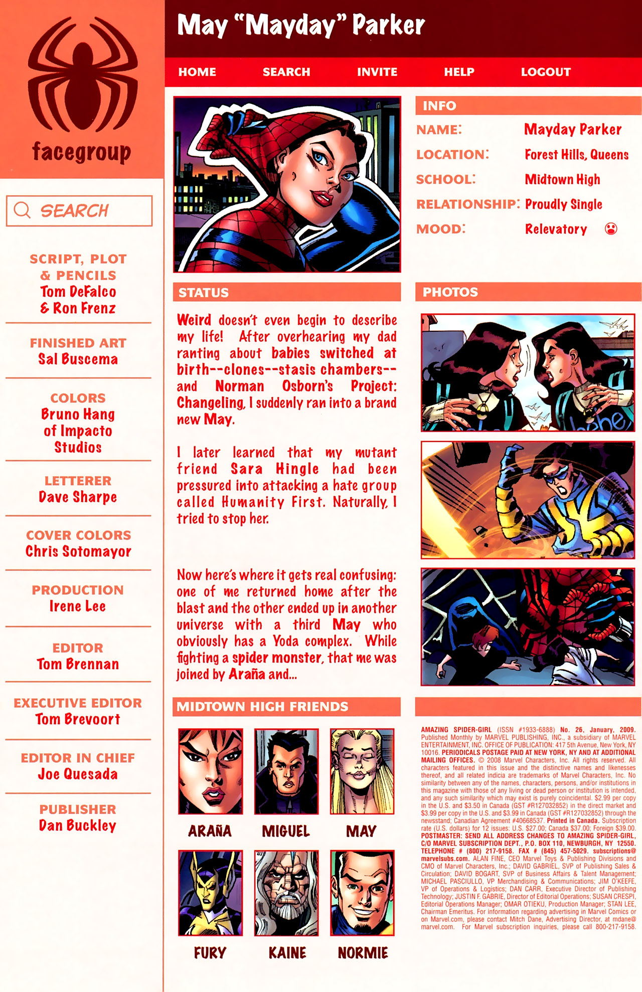 Read online Amazing Spider-Girl comic -  Issue #26 - 5
