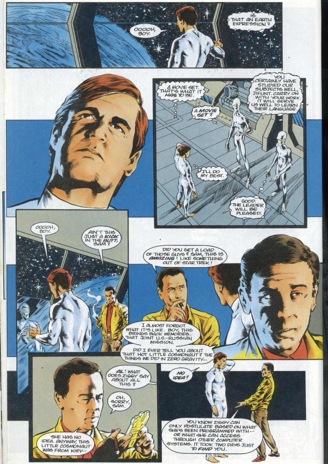 Read online Quantum Leap comic -  Issue #13 - 30