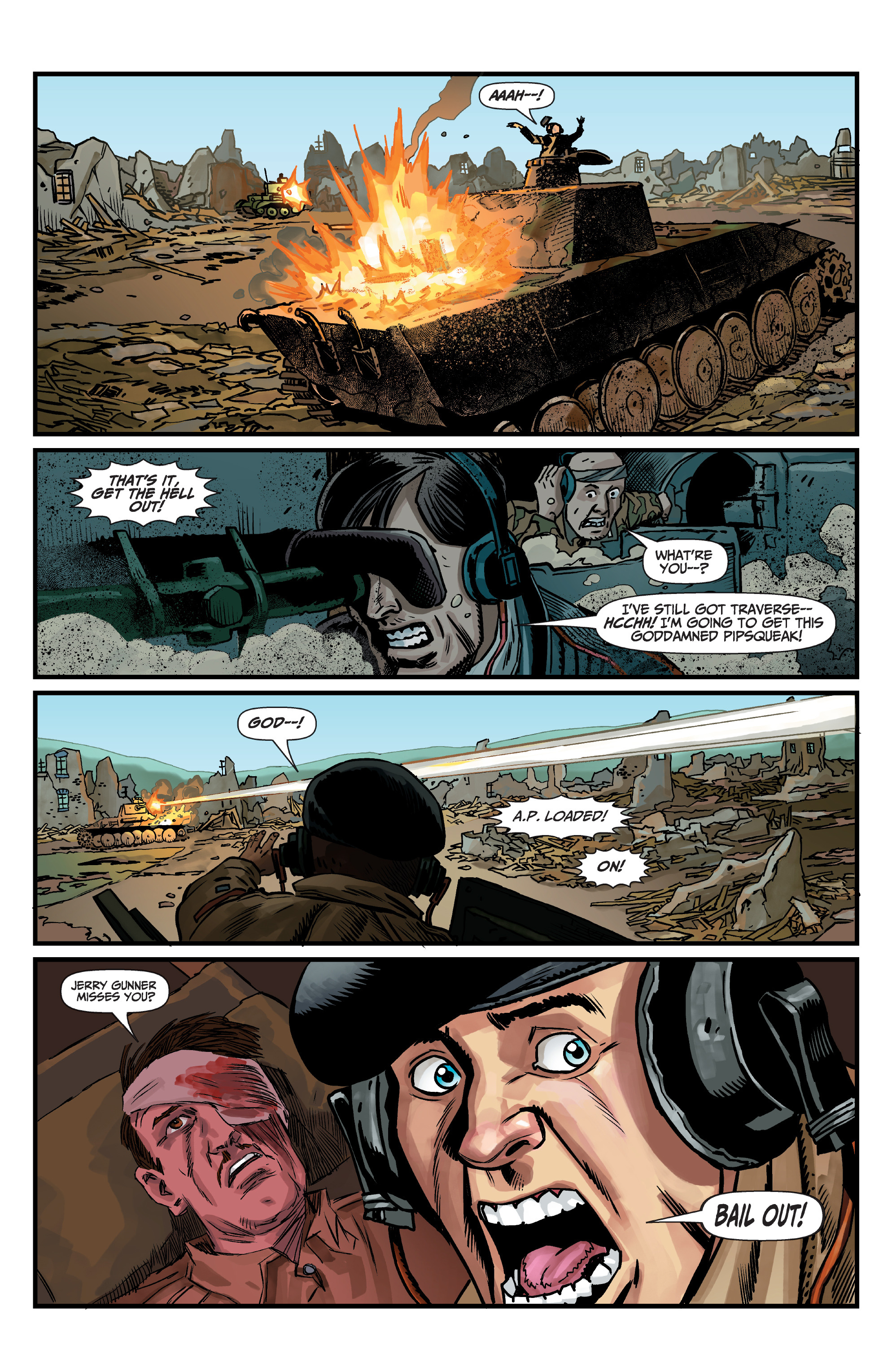Read online World of Tanks comic -  Issue #5 - 14