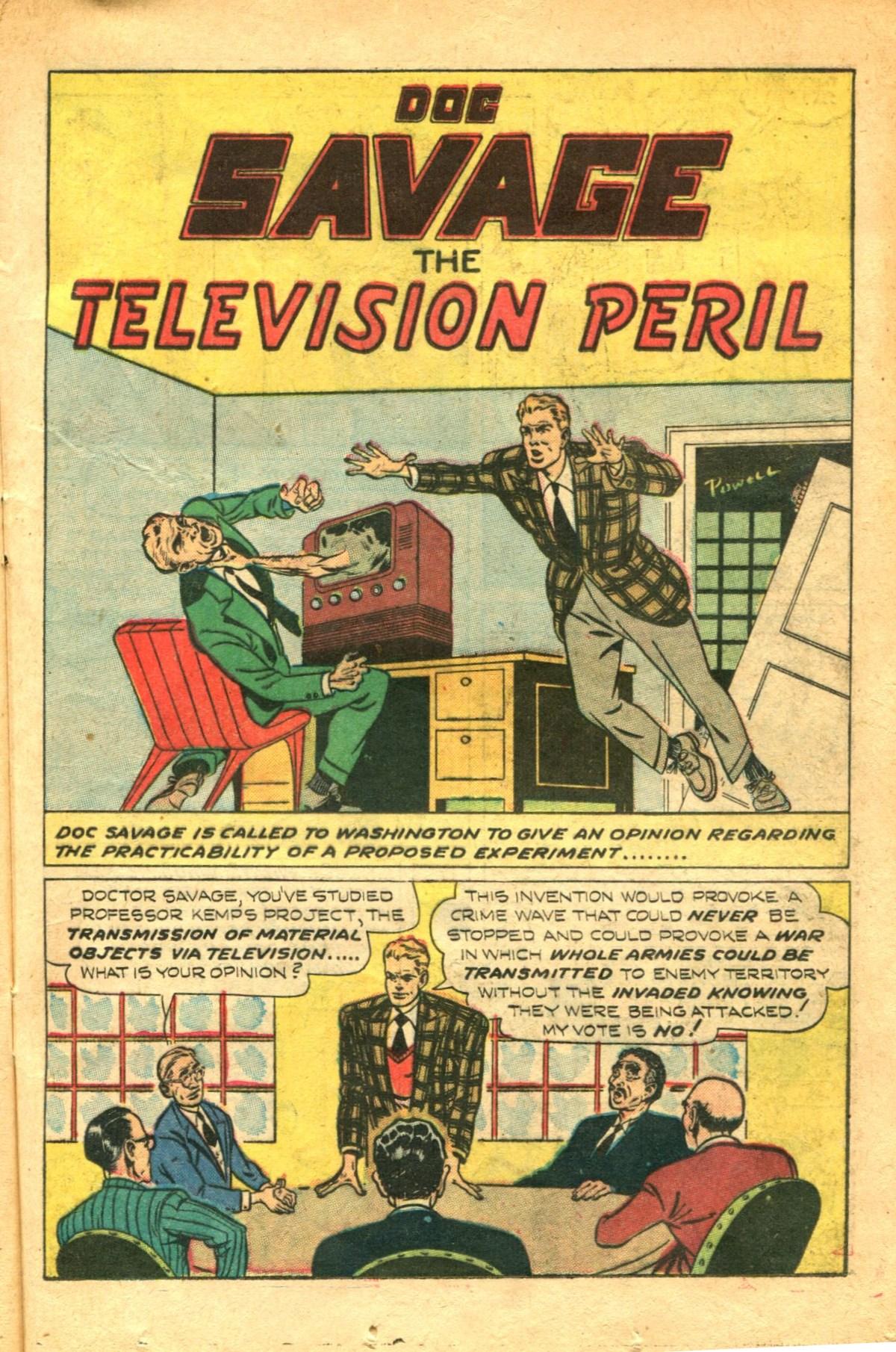 Read online Shadow Comics comic -  Issue #91 - 23