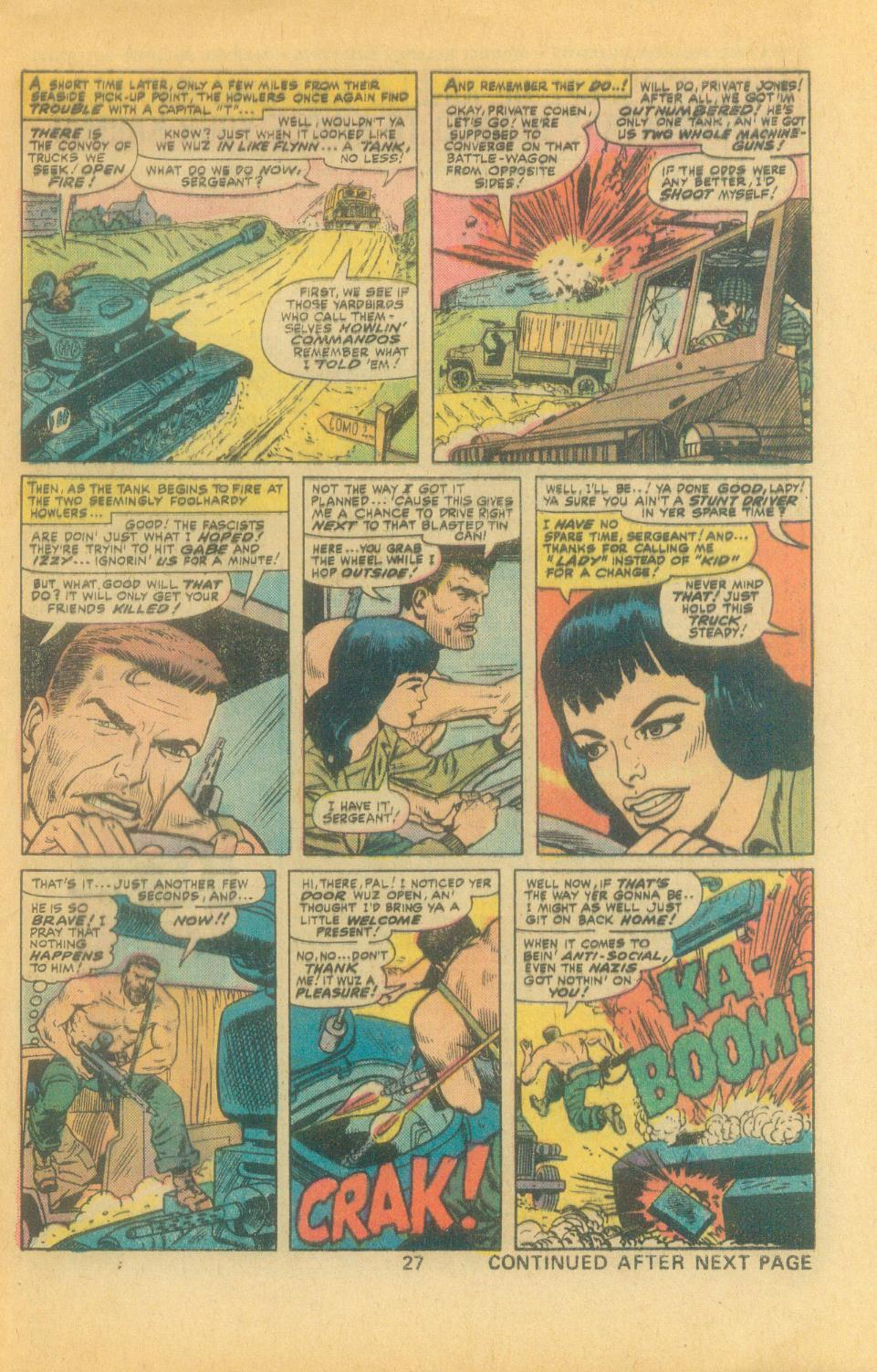 Read online Sgt. Fury comic -  Issue #132 - 29