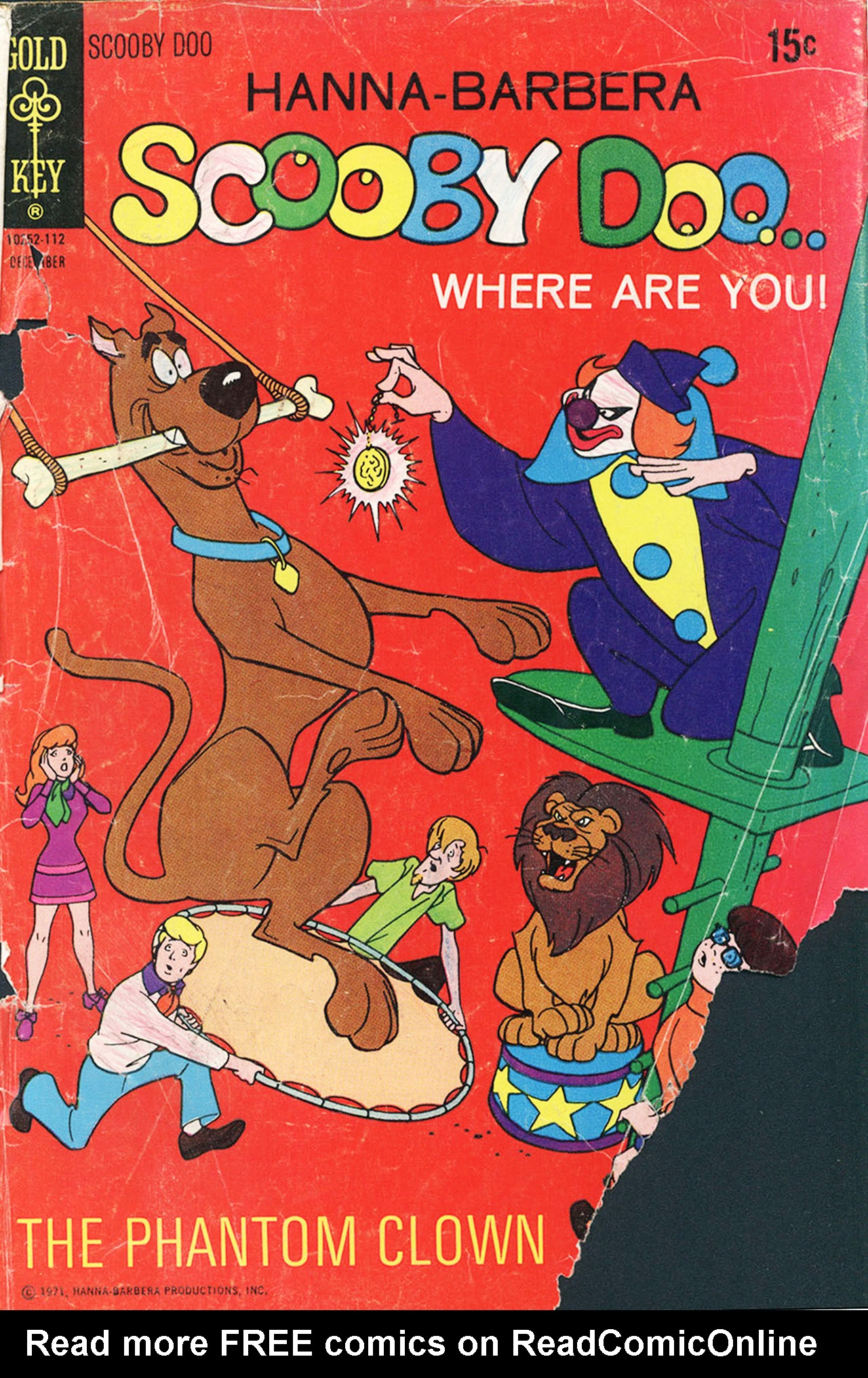 Read online Scooby-Doo... Where Are You! (1970) comic -  Issue #9 - 1